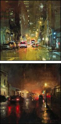 Jeremy Mann als inspirator voor cursisten schildercursus of schilderles Achterhoek