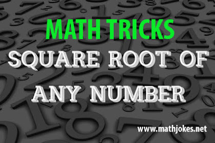 Estimating Square Root of Any Number