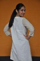 Radhika Cute Young New Actress in White Long Transparent Kurta ~  Exclusive Celebrities Galleries 093.JPG