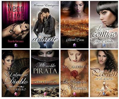 catálogo Romantic 2018_sellos editoriales de novela romántica