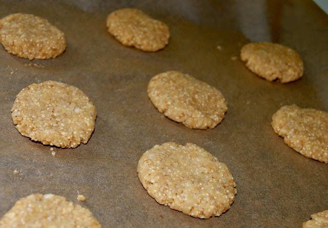ciasteczka sezamowe z amarantusem
