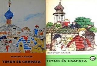 Timur és csapata ifjúsági regény bemutatás