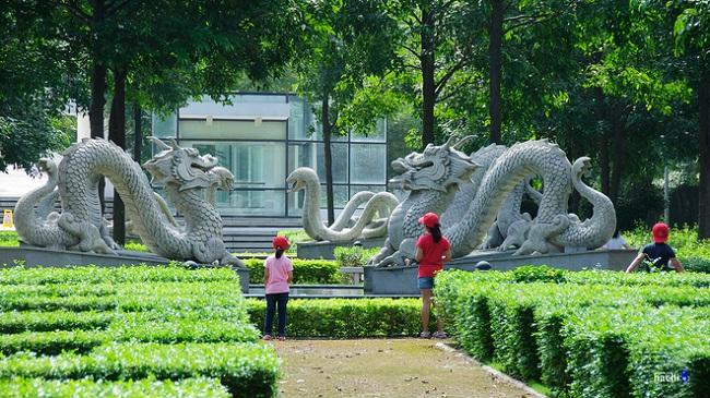 công viên yên sở của gamuda city