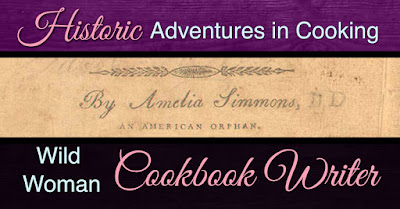 Wild Woman Cookbook Writer Amelia Simmons