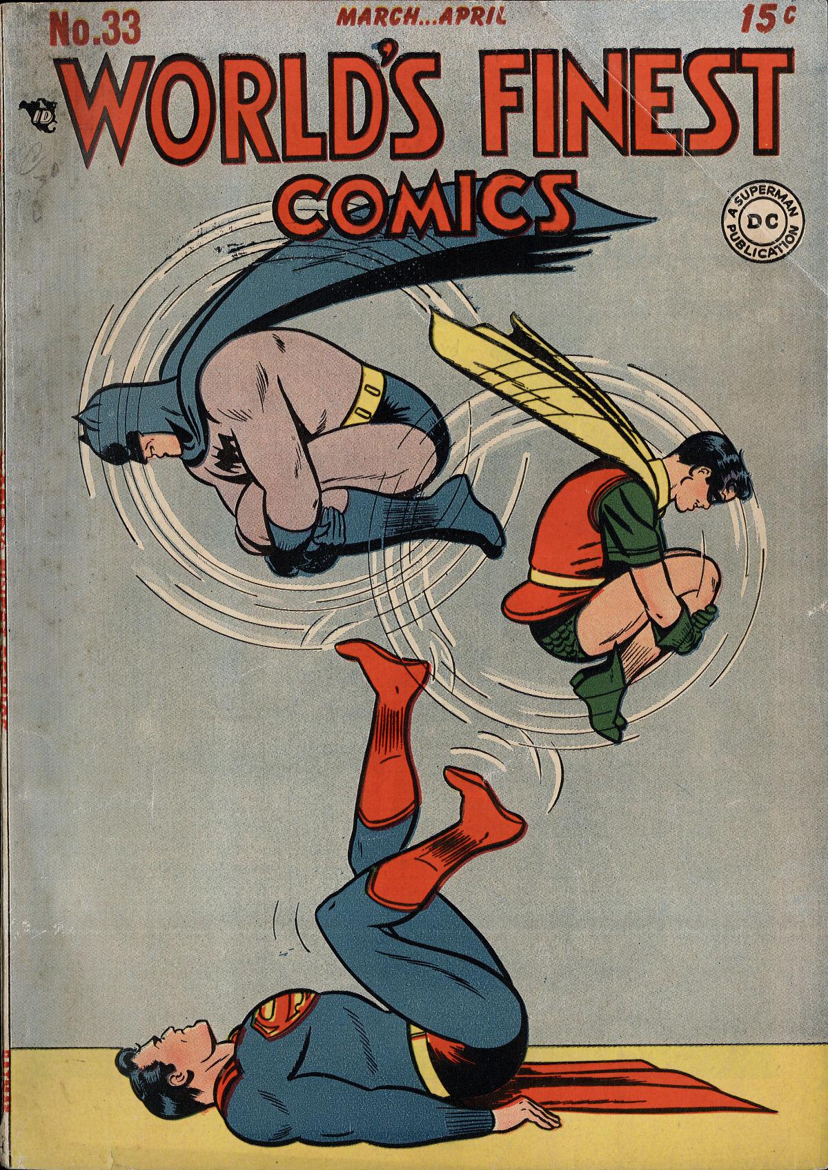 Read online World's Finest Comics comic -  Issue #33 - 1