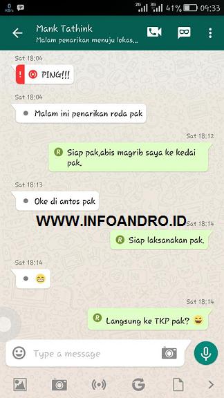 Download BBM WhatsApp Theme