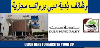 وظائف بلدية دبي