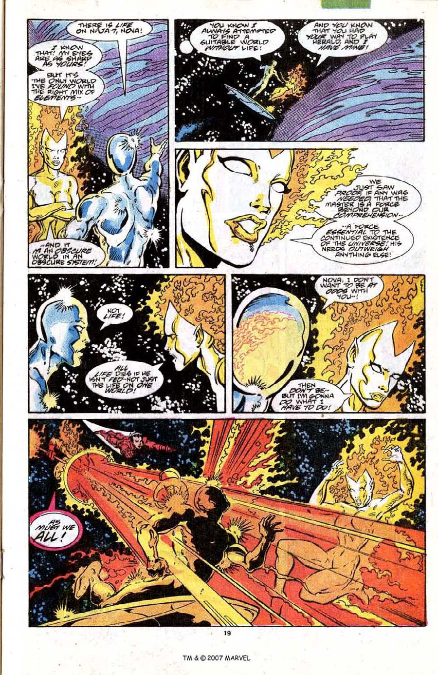 Read online Silver Surfer (1987) comic -  Issue #19 - 21