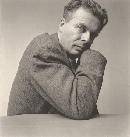Aldous Huxley, New York, 1950, by  Irving Penn