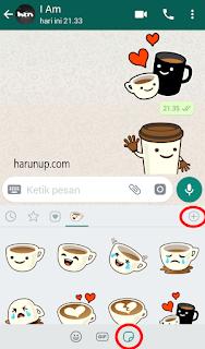 Fitur Baru Whatsapp Bisa Kirim Sticker 2018