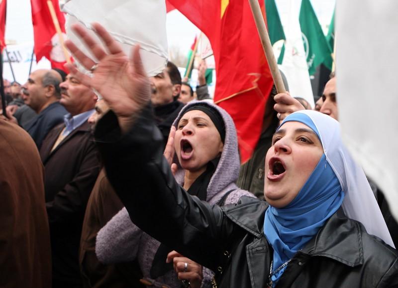 Arabs Demanding Power For The People
