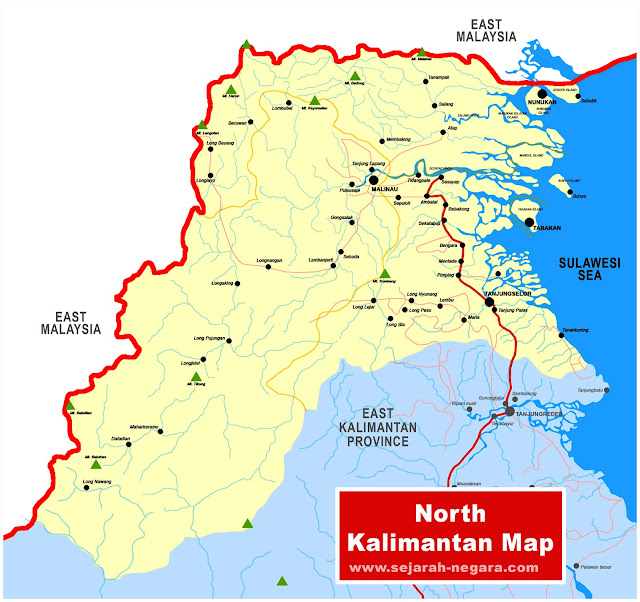 image: Map of North Kalimantan
