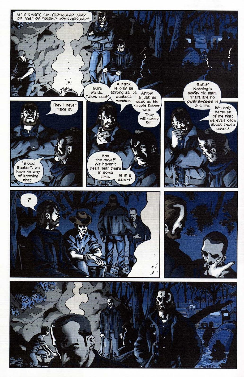 Read online Werewolf the Apocalypse comic -  Issue # Get of Fenris - 10