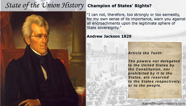 State Of The Union History 1821 James Monroe Free Trade Agreement