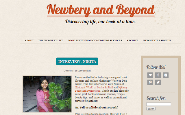 #BloggerInterview: Nikita aka Njkinny from Njkinny's World of Books & Stuff