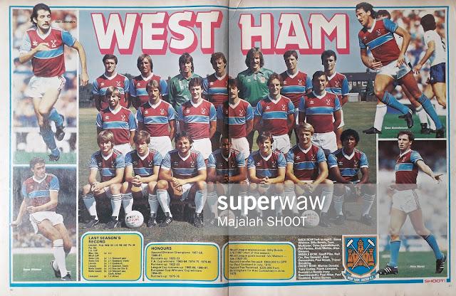 TEAM WEST HAM 1983