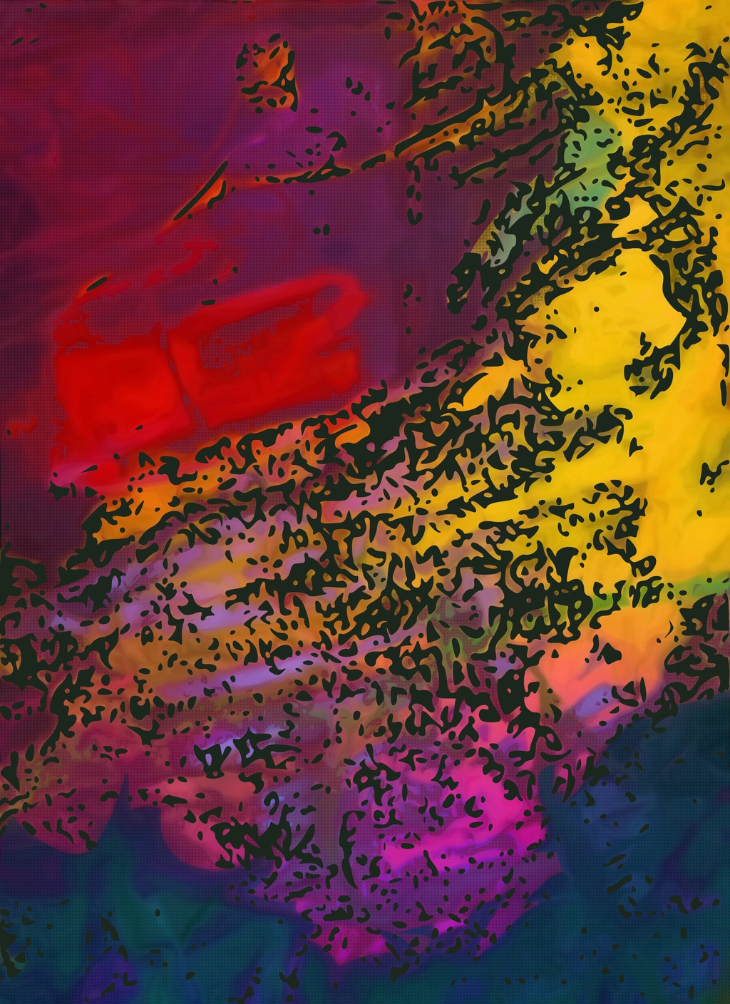 Wallpapers Background: Abstract Art Painting