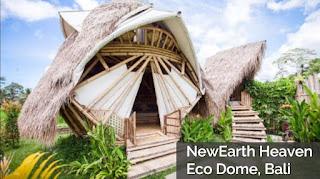 pulau dewata, pulau di bali, wisata bali, pantai bali, hotel di bali, NewEarth Eco Dome - Bali