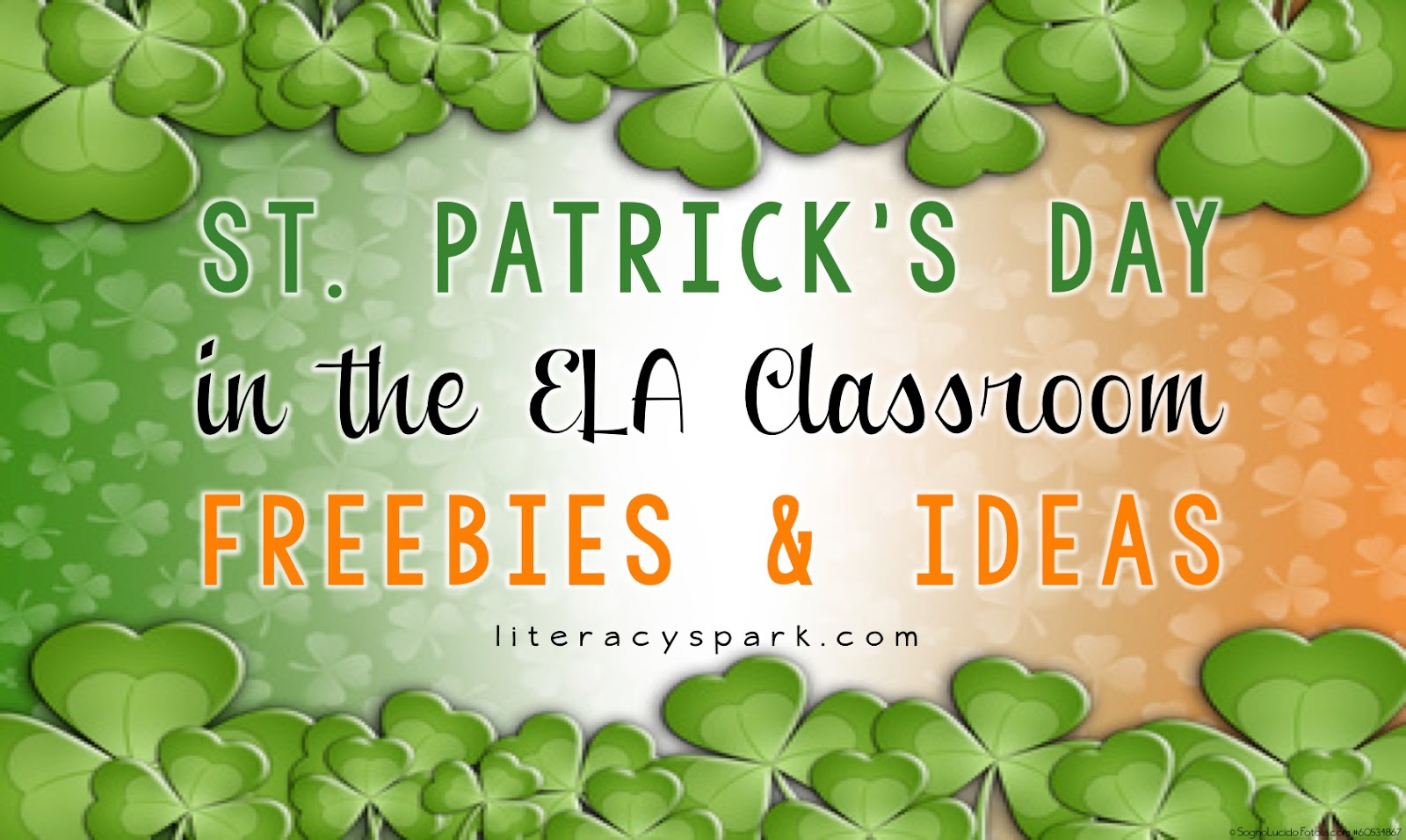 St Patricks Day Ideas Freebies Literacy Spark