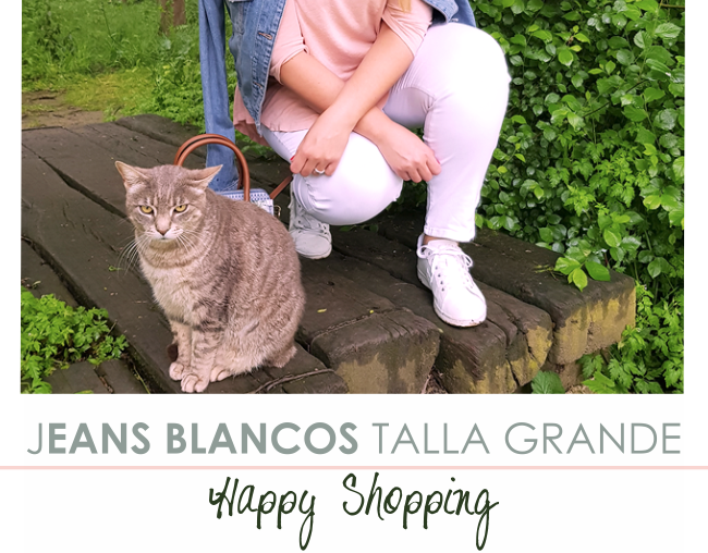 Vaqueros Blancos Talla Grande · ¡New Collection!