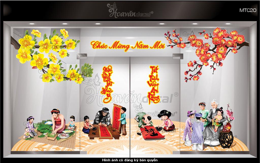 trang-tri-tet-mau-tranh-tet-01 Trang tri tet 2018, Tết việt – Trang trí đón tết cổ truyền - Văn hóa Việt