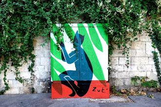 Sunday Street Art : Zut - boulevard Edgar Quinet - Paris 14