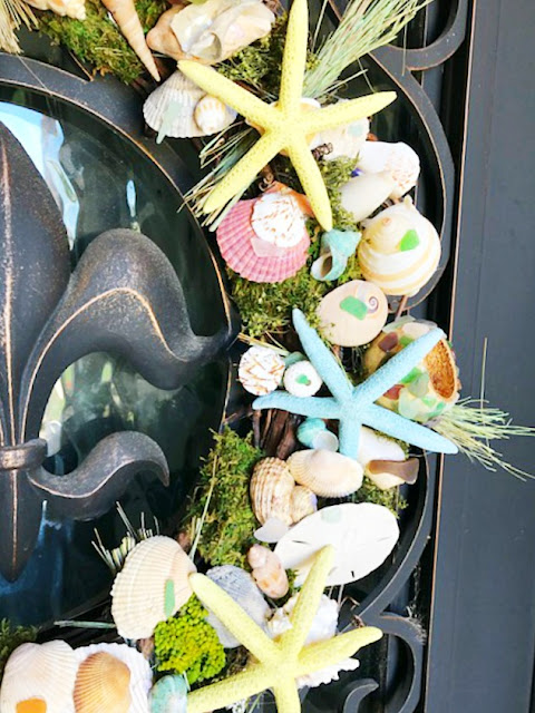 sea-urchin-sea-shells-sea-glass-handmade-custom-wreath-athomewithjemma