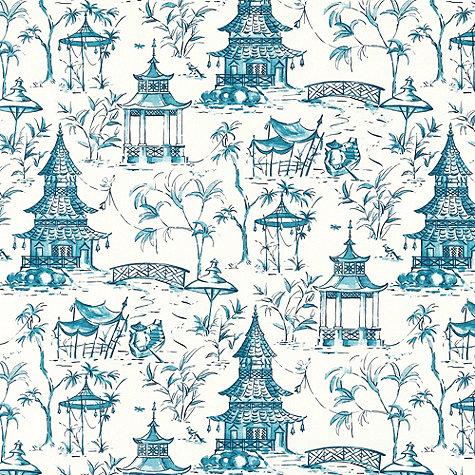 Blue Chinoiserie Fabrics At Ballard