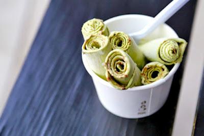 hình ảnh kem cuộn thái lan