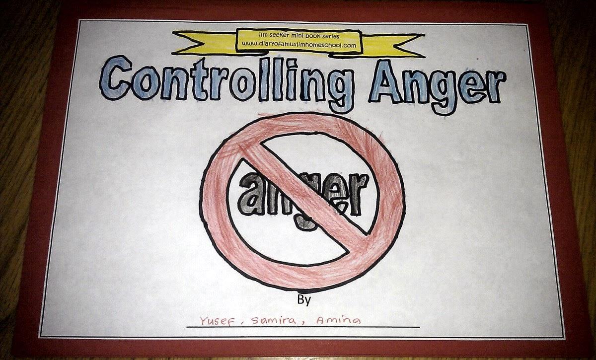 Workbooks anger workbook : Iman's Home-School: Controlling Anger Workbook