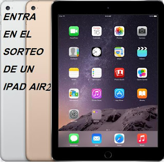 SORTEO IPAD AIR 2