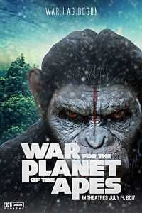 War for the Planet of the Apes (2017) Full Hindi Movie DVDScr 300MB 480p