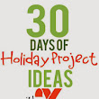 30 Days of Holiday Projects with Xyron - Holiday Books Advent Tags