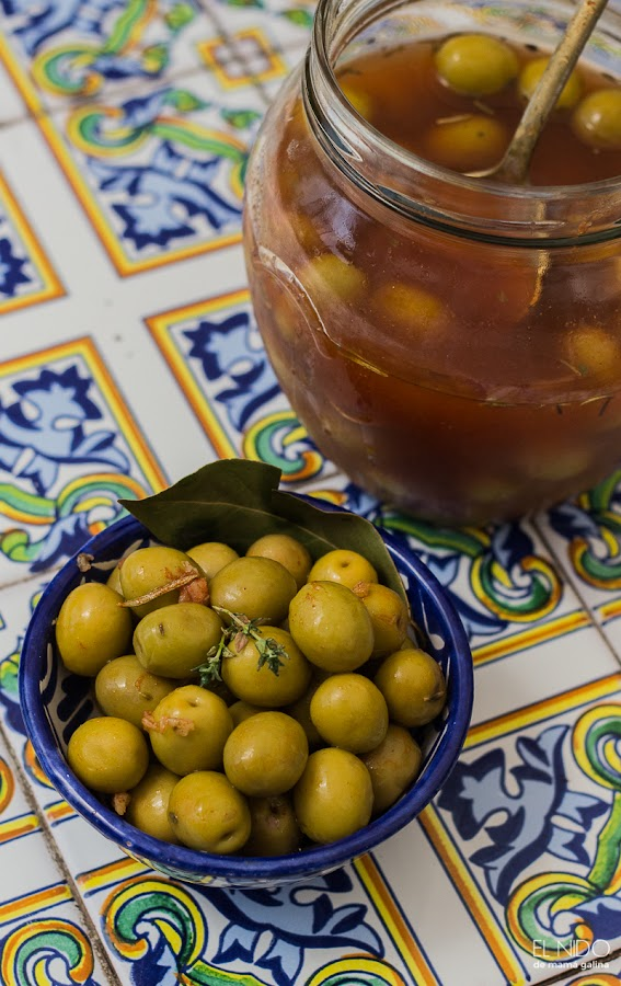 Easy spiced olives