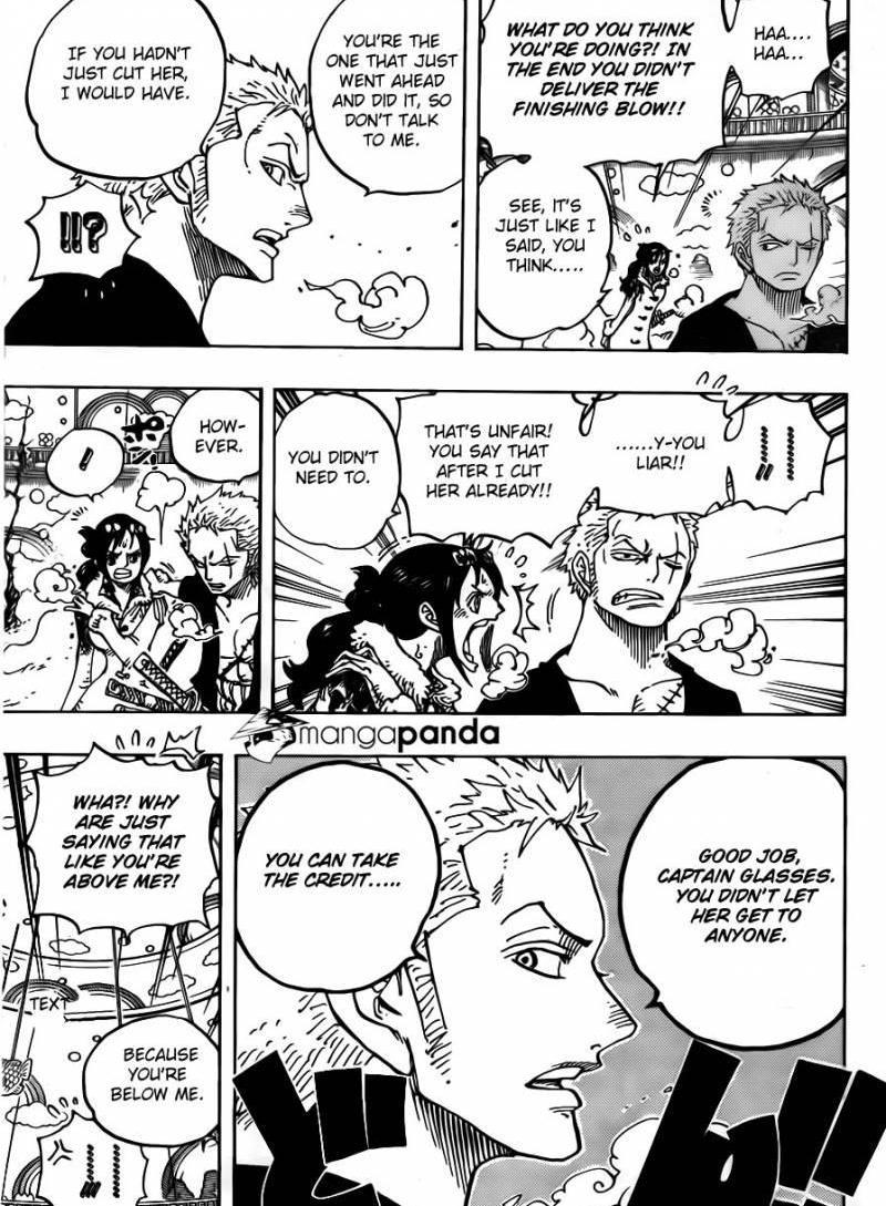 One Piece Ch 687: Beast