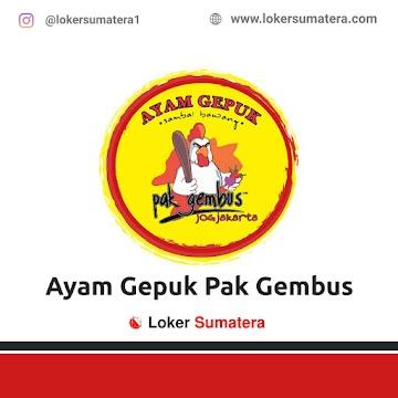Lowongan Kerja Padang, Ayam Gepuk Pak Gembus Juli 2021