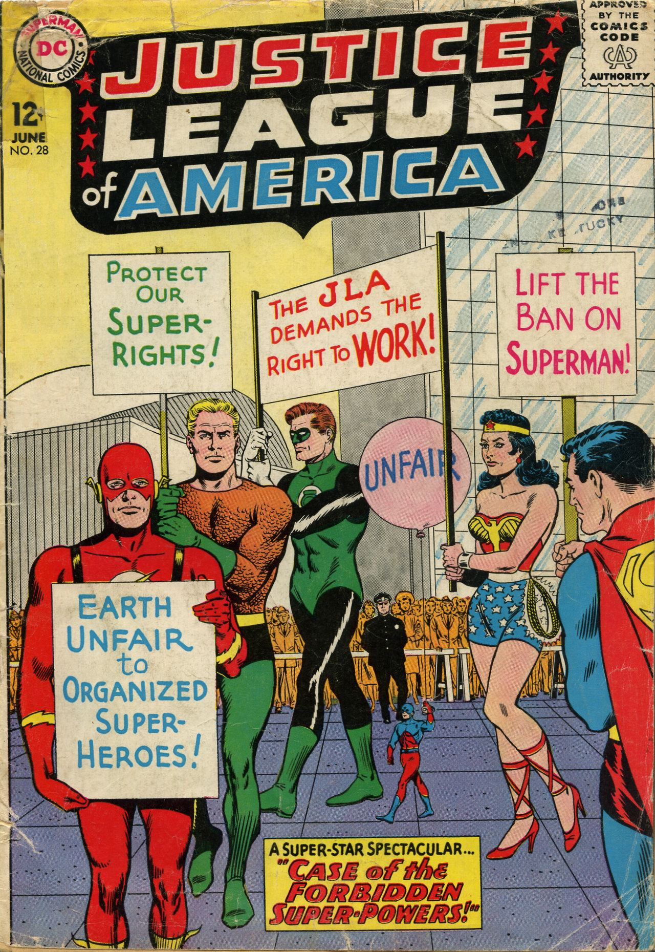 Justice League of America (1960) 28 Page 1