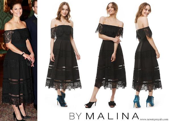 Crown Princess Victoria wore By Malina Othelia Dress