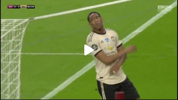 VIDEO: Aston Villa 0:3 Manchester United /  Premier league