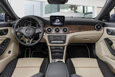 Mercedes CLA Facelift interior Hd Images