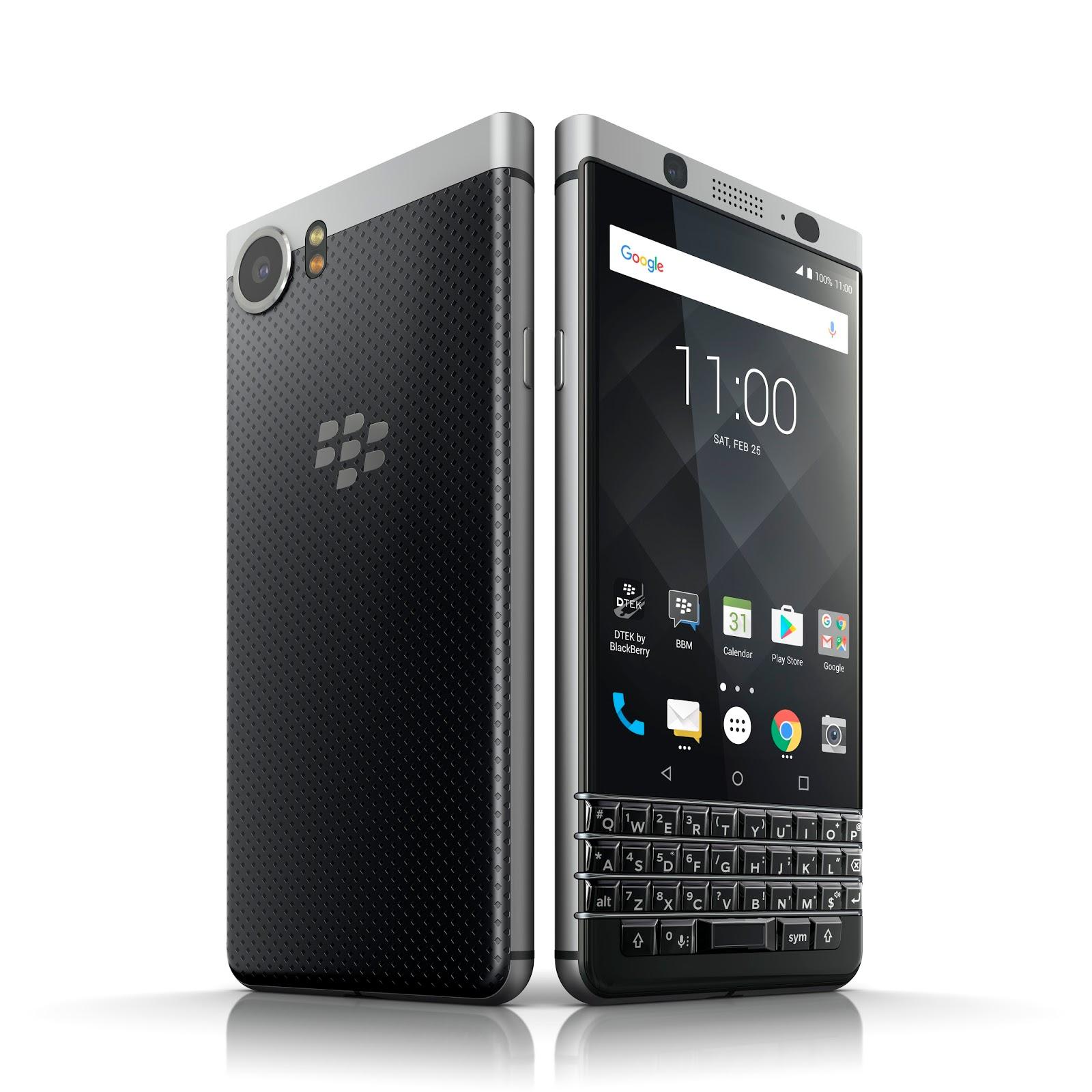 Nuovo BlackBerry KEYone, tastiera fisica e Android 7.1 3 HTnovo