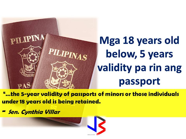 "The Senate of The Philippines recently approved the bill proposing that passport validity be made 10-years instead of the current 5-year validity.    ""A minor's passport should indeed be renewed every 5 years because a minor's facial changes while growing up.""- Sen. C.Villar   One of the reasons for the extension of the passport validity is for the convenience of Filipinos working overseas.      Under the bill that has been passed in the Senate, regular passports will be valid for 10 years, instead of the current five.  Based on the speech by Sen. Cynthia Villar, one of the reasons why they pushed through the change in validity period of passport is for the OFWs.  ""In order to make travel abroad easier for the OFWs, the bill simply extends the validity of regular passports to 10 years,""   After the House of Representatives approval of extending the validity of Philippine passports last February, the Senate has also approved, on its second reading, a proposal extending the validity of Philippine passports from five years to 10 years.  Senate Bill 1365, authored by Senators Richard Gordon, Cynthia Villar, Ralph Recto, JV Ejercito, Loren Legarda, Sonny Angara, Joel Villanueva, Grace Poe, and Alan Peter Cayetano amends Republic Act No. 8329 or the Philippine Passport Act of 1996 extending the validity of the Philippine passports to ten years for citizens of legal age. For 18 years old and below, the validity will still be five years.   During his first State of the Nation Address, President Rodrigo Duterte mentioned about the passport validity extension. According to Senator Cynthia Villar, passports of several countries, such as the United States, Canada, the United Kingdom, Australia, Vietnam, and Cambodia, already has10 years validity.   The Philippine passport, however, is only valid for five years and six months before the expiration date it can no longer be used.   Passport applications, she said, increase by 30 percent every year and there will be no impact on government revenue due to the validity extension.  ""Whatever we will lose in terms of renewal will be compensated by the increase in the passport application,"" Sen Villar said.  The government revenue from passport applications is P4 billion every year. Sources: Manila Standard, GMA News RECOMMENDED:  A massive attack on Google hit millions of Gmail users after receiving an email which instructs the user to click on a document. After that, a very google-like page that will ask for your password and that's where you get infected. Experts warned that if ever you received an email which asks you to click a document, please! DO NOT CLICK IT!  This ""worm"" which arrived in the inboxes of Gmail users in the form of an email from a trusted contact asking users to click on an attached ""Google Docs,"" or GDocs, file. Clicking on the link took them to a real Google security page, where users were asked to give permission for the fake app, posing as GDocs, to have an access to the users' email account.  For added menace, this worm also sent itself out to all of the contacts of the affected user Gmail or and others spawning itself hundreds of times any time a single user was hooked on its snare.  Follow Google Docs  ✔@googledocs We are investigating a phishing email that appears as Google Docs. We encourage you to not click through & report as phishing within Gmail. 4:08 AM - 4 May 2017       4,6234,623 Retweets     2,5192,519 likes It is a common strategy but what puzzled millions of affected users was the sophisticated construction of the malicious link which was so realistic; from the email sender to the link that remarkably looks real. Worms or phishing attacks generally access your personal information like passwords of your bank accounts, social media accounts, and others.  This gmail/docs hack is clever. It's abusing oauth to gain access to accounts. 4:51 AM - 4 May 2017       Retweets     11 like    Follow St George Police @sgcitypubsafety Do you Goole? Or use GMAIL? Watch out for this scam & spread the word (not the virus!) https://www.reddit.com/r/google/comments/692cr4/new_google_docs_phishing_scam_almost_undetectable/ … 4:50 AM - 4 May 2017  Photo published for New Google Docs phishing scam, almost undetectable • r/google New Google Docs phishing scam, almost undetectable • r/google I received a phishing email today, and very nearly fell for it. I'll go through the steps here: 1. I [received an... reddit.com       22 Retweets     44 likes   View image on Twitter View image on Twitter   Follow CortlandtDailyVoice @CortlandtDV Westchester School Officials Warn Of Gmail Email 'Situation' http://dlvr.it/P3KdGC  4:50 AM - 4 May 2017       11 Retweet     11 like    Follow Shane Gustafson  ✔@Shane_WMBD SCAM ALERT: Gmail accounts across the country have been hacked, several agencies are asking you to be aware. http://www.centralillinoisproud.com/news/local-news/gmail-hack-hits-central-illinois/705935084 … 4:48 AM - 4 May 2017  Photo published for Gmail Hack Hits Central Illinois Gmail Hack Hits Central Illinois An attack against Gmail accounts across the country also targets several agencies in central Illinois. centralillinoisproud.com       66 Retweets     33 likes    Follow Lance @lancewmccarthy Man, gmail's getting hammered today with spam and phishing attacks. 4:49 AM - 4 May 2017       11 Retweet     11 like Within an hour,  a red warning began appearing with the malicious email that says it could be a phishing attack.   View image on Twitter View image on Twitter   Follow Jen Lee Reeves @jenleereeves Be careful, Twitter people with Gmail accounts! Do not click on the ""doc share"" box. It's a solid attempt at phishing. 4:14 AM - 4 May 2017       44 Retweets     77 likes    However, Google said that they had ""disabled"" the malicious accounts and pushed updates to all users. They also said that it only affected ""fewer than 0.1 percent of Gmail users"" still be about 1 million of the service's roughly 1 billion users around the world.  What do you have to do if you experienced similar phishing attacks?        Source: NBC Recommended:  Do You Need Money For Tuition Fee For The Next School Year? You Need To Watch This Do you need money for your tuition fee to be able to study this coming school year? The Philippine government might be able to help you. All you need to do is to follow these steps:  -Inquire at the state college or university where you want to study.  -Bring Identification forms. If your family is a 4Ps subsidiary, prepare and bring your 4Ps identification card. For families who are not a member of 4Ps, bring your family's proof of income.  -Bring the registration form from your state college or university where you want to study.   Nicholas Tenazas, Deputy executive Director of CHED-UniFAST said that in the program, the state colleges and universities will not collect any tuition fee from the students. The Government will shoulder their tuition fees.  CHED-UniFAST or the Unified Student Financial Assistance For Tertiary Education otherwise known as the Republic Act 10687  which aims to provide quality education to the Filipinos.  What are the qualifications for availing of the modalities of UniFAST?  The applicant for any of the modalities under the UniFAST must meet the following minimum qualifications:  (a) must be a Filipino citizen, but the Board may grant exemptions to foreign students based on reciprocal programs that provide similar benefits to Filipino students, such as student exchange programs, international reciprocal Scholarships, and other mutually beneficial programs;   (b) must be a high school graduate or its equivalent from duly authorized institutions;   (c) must possess good moral character with no criminal record, but this requirement shall be waived for programs which target children in conflict with the law and those who are undergoing or have undergone rehabilitation;   (d) must be admitted to the higher education institution (HEI) or TVI included in the Registry of Programs and Institutions of the applicant's choice, provided that the applicant shall be allowed to begin processing the application within a reasonable time frame set by the Board to give the applicant sufficient time to enroll;   (e) in the case of technical-vocational education and training or TVET programs, must have passed the TESDA screening/assessment procedure, trade test, or skills competency evaluation; and   (f) in the case of scholarship, the applicant must obtain at least the score required by the Board for the Qualifying Examination System for Scoring Students and must possess such other qualifications as may be prescribed by the Board.  The applicant has to declare also if he or she is already a beneficiary of any other student financial assistance, including government StuFAP. However, if at the time of application of the scholarship, grant-in-aid, student loan, or other modalities of StuFAP under this Act, the amount of such other existing grant does not cover the full cost of tertiary education at the HEI or TVI where the applicant has enrolled in, the applicant may still avail of the StuFAPs under this Act for the remaining portion. Recommended:  Starting this August, the Land Transportation Office (LTO) will possibly release the driver's license with validity of 5 years as President Duterte earlier promised.  LTO Chief Ed Galvante said, LTO started the renewal of driver's license with a validity of 5 years since last year but due to the delay of the supply of the plastic cards, they are only able to issue receipts. The LTO is optimistic that the plastic cards will be available on the said month.  Meanwhile, the LTO Chief has uttered support to the program of the Land Transportation Franchising and Regulatory Board (LTFRB) which is the establishment of the Driver's Academy which will begin this month  Public Utility Drivers will be required to attend the one to two days classes. At the academy, they will learn the traffic rules and regulations, LTFRB policies, and they will also be taught on how to avoid road rage. Grab and Uber drivers will also be required to undergo the same training.  LTFRB board member Aileen Lizada said that they will conduct an exam after the training and if the drivers passed, they will be given an ID Card.  The list of the passers will be then listed to their database. The operators will be able to check the status of the drivers they are hiring. Recommended:    Transfer to other employer   An employer can grant a written permission to his employees to work with another employer for a period of six months, renewable for a similar period.  Part time jobs are now allowed   Employees can take up part time job with another employer, with a written approval from his original employer, the Ministry of Interior said yesterday.   Staying out of Country, still can come back?  Expatriates staying out of the country for more than six months can re-enter the country with a ""return visa"", within a year, if they hold a Qatari residency permit (RP) and after paying the fine.    Newborn RP possible A newborn baby can get residency permit within 90 days from the date of birth or the date of entering the country, if the parents hold a valid Qatari RP.  No medical check up Anyone who enters the country on a visit visa or for other purposes are not required to undergo the mandatory medical check-up if they stay for a period not more than 30 days. Foreigners are not allowed to stay in the country after expiry of their visa if not renewed.   E gates for all  Expatriates living in Qatar can leave and enter the country using their Qatari IDs through the e-gates.  Exit Permit Grievances Committee According to Law No 21 of 2015 regulating entry, exit and residency of expatriates, which was enforced on December 13, last year, expatriate worker can leave the country immediately after his employer inform the competent authorities about his consent for exit. In case the employer objected, the employee can lodge a complaint with the Exit Permit Grievances Committee which will take a decision within three working days.  Change job before or after contract , complete freedom  Expatriate worker can change his job before the end of his work contract with or without the consent of his employer, if the contract period ended or after five years if the contract is open ended. With approval from the competent authority, the worker also can change his job if the employer died or the company vanished for any reason.   Three months for RP process  The employer must process the RP of his employees within 90 days from the date of his entry to the country.  Expat must leave within 90 days of visa expiry The employer must return the travel document (passport) to the employee after finishing the RP formalities unless the employee makes a written request to keep it with the employer. The employer must report to the authorities concerned within 24 hours if the worker left his job, refused to leave the country after cancellation of his RP, passed three months since its expiry or his visit visa ended.  If the visa or residency permit becomes invalid the expat needs to leave the country within 90 days from the date of its expiry. The expat must not violate terms and the purpose for which he/she has been granted the residency permit and should not work with another employer without permission of his original employer. In case of a dispute the Interior Minister or his representative has the right to allow an expatriate worker to work with another employer temporarily with approval from the Ministry of Administrative Development,Labour and Social Affairs. Source:qatarday.com Recommended:      The Barangay Micro Business Enterprise Program (BMBE) or Republic Act No. 9178 of the Department of Trade and Industry (DTI) started way back 2002 which aims to help people to start their small business by providing them incentives and other benefits.  If you have a small business that belongs to manufacturing, production, processing, trading and services with assets not exceeding P3 million you can benefit from BMBE Program of the government.  Benefits include:  Income tax exemption from income arising from the operations of the enterprise;   Exemption from the coverage of the Minimum Wage Law (BMBE 1) 2) 3) 2 employees will still receive the same social security and health care benefits as other employees);   Priority to a special credit window set up specifically for the financing requirements of BMBEs; and  Technology transfer, production and management training, and marketing assistance programs for BMBE beneficiaries.  Gina Lopez Confirmation as DENR Secretary Rejected; Who Voted For Her and Who Voted Against?   ©2017 THOUGHTSKOTO www.jbsolis.com SEARCH JBSOLIS   The Barangay Micro Business Enterprise Program (BMBE) or Republic Act No. 9178 of the Department of Trade and Industry (DTI) started way back 2002 which aims to help people to start their small business by providing them incentives and other benefits.  If you have a small business that belongs to manufacturing, production, processing, trading and services with assets not exceeding P3 million you can benefit from BMBE Program of the government.   Benefits include: Income tax exemption from income arising from the operations of the enterprise;   Exemption from the coverage of the Minimum Wage Law (BMBE 1) 2) 3) 2 employees will still receive the same social security and health care benefits as other employees);   Priority to a special credit window set up specifically for the financing requirements of BMBEs; and  Technology transfer, production and management training, and marketing assistance programs for BMBE beneficiaries.  Gina Lopez Confirmation as DENR Secretary Rejected; Who Voted For Her and Who Voted Against? Transfer to other employer   An employer can grant a written permission to his employees to work with another employer for a period of six months, renewable for a similar period.  Part time jobs are now allowed   Employees can take up part time job with another employer, with a written approval from his original employer, the Ministry of Interior said yesterday.   Staying out of Country, still can come back?  Expatriates staying out of the country for more than six months can re-enter the country with a ""return visa"", within a year, if they hold a Qatari residency permit (RP) and after paying the fine.    Newborn RP possible A newborn baby can get residency permit within 90 days from the date of birth or the date of entering the country, if the parents hold a valid Qatari RP.  No medical check up Anyone who enters the country on a visit visa or for other purposes are not required to undergo the mandatory medical check-up if they stay for a period not more than 30 days. Foreigners are not allowed to stay in the country after expiry of their visa if not renewed.   E gates for all  Expatriates living in Qatar can leave and enter the country using their Qatari IDs through the e-gates.  Exit Permit Grievances Committee According to Law No 21 of 2015 regulating entry, exit and residency of expatriates, which was enforced on December 13, last year, expatriate worker can leave the country immediately after his employer inform the competent authorities about his consent for exit. In case the employer objected, the employee can lodge a complaint with the Exit Permit Grievances Committee which will take a decision within three working days.  Change job before or after contract , complete freedom  Expatriate worker can change his job before the end of his work contract with or without the consent of his employer, if the contract period ended or after five years if the contract is open ended. With approval from the competent authority, the worker also can change his job if the employer died or the company vanished for any reason.   Three months for RP process  The employer must process the RP of his employees within 90 days from the date of his entry to the country.  Expat must leave within 90 days of visa expiry The employer must return the travel document (passport) to the employee after finishing the RP formalities unless the employee makes a written request to keep it with the employer. The employer must report to the authorities concerned within 24 hours if the worker left his job, refused to leave the country after cancellation of his RP, passed three months since its expiry or his visit visa ended.  If the visa or residency permit becomes invalid the expat needs to leave the country within 90 days from the date of its expiry. The expat must not violate terms and the purpose for which he/she has been granted the residency permit and should not work with another employer without permission of his original employer. In case of a dispute the Interior Minister or his representative has the right to allow an expatriate worker to work with another employer temporarily with approval from the Ministry of Administrative Development,Labour and Social Affairs. Source:qatarday.com Recommended:      The Barangay Micro Business Enterprise Program (BMBE) or Republic Act No. 9178 of the Department of Trade and Industry (DTI) started way back 2002 which aims to help people to start their small business by providing them incentives and other benefits.  If you have a small business that belongs to manufacturing, production, processing, trading and services with assets not exceeding P3 million you can benefit from BMBE Program of the government.  Benefits include:  Income tax exemption from income arising from the operations of the enterprise;   Exemption from the coverage of the Minimum Wage Law (BMBE 1) 2) 3) 2 employees will still receive the same social security and health care benefits as other employees);   Priority to a special credit window set up specifically for the financing requirements of BMBEs; and  Technology transfer, production and management training, and marketing assistance programs for BMBE beneficiaries.  Gina Lopez Confirmation as DENR Secretary Rejected; Who Voted For Her and Who Voted Against?   ©2017 THOUGHTSKOTO www.jbsolis.com SEARCH JBSOLIS  ©2017 THOUGHTSKOTO www.jbsolis.com SEARCH JBSOLIS Starting this August, the Land Transportation Office (LTO) will possibly release the driver's license with validity of 5 years as President Duterte earlier promised.  LTO Chief Ed Galvante said, LTO started the renewal of driver's license with a validity of 5 years since last year but due to the delay of the supply of the plastic cards, they are only able to issue receipts. The LTO is optimistic that the plastic cards will be available on the said month.     Transfer to other employer   An employer can grant a written permission to his employees to work with another employer for a period of six months, renewable for a similar period.  Part time jobs are now allowed   Employees can take up part time job with another employer, with a written approval from his original employer, the Ministry of Interior said yesterday.   Staying out of Country, still can come back?  Expatriates staying out of the country for more than six months can re-enter the country with a ""return visa"", within a year, if they hold a Qatari residency permit (RP) and after paying the fine.    Newborn RP possible A newborn baby can get residency permit within 90 days from the date of birth or the date of entering the country, if the parents hold a valid Qatari RP.  No medical check up Anyone who enters the country on a visit visa or for other purposes are not required to undergo the mandatory medical check-up if they stay for a period not more than 30 days. Foreigners are not allowed to stay in the country after expiry of their visa if not renewed.   E gates for all  Expatriates living in Qatar can leave and enter the country using their Qatari IDs through the e-gates.  Exit Permit Grievances Committee According to Law No 21 of 2015 regulating entry, exit and residency of expatriates, which was enforced on December 13, last year, expatriate worker can leave the country immediately after his employer inform the competent authorities about his consent for exit. In case the employer objected, the employee can lodge a complaint with the Exit Permit Grievances Committee which will take a decision within three working days.  Change job before or after contract , complete freedom  Expatriate worker can change his job before the end of his work contract with or without the consent of his employer, if the contract period ended or after five years if the contract is open ended. With approval from the competent authority, the worker also can change his job if the employer died or the company vanished for any reason.   Three months for RP process  The employer must process the RP of his employees within 90 days from the date of his entry to the country.  Expat must leave within 90 days of visa expiry The employer must return the travel document (passport) to the employee after finishing the RP formalities unless the employee makes a written request to keep it with the employer. The employer must report to the authorities concerned within 24 hours if the worker left his job, refused to leave the country after cancellation of his RP, passed three months since its expiry or his visit visa ended.  If the visa or residency permit becomes invalid the expat needs to leave the country within 90 days from the date of its expiry. The expat must not violate terms and the purpose for which he/she has been granted the residency permit and should not work with another employer without permission of his original employer. In case of a dispute the Interior Minister or his representative has the right to allow an expatriate worker to work with another employer temporarily with approval from the Ministry of Administrative Development,Labour and Social Affairs. Source:qatarday.com Recommended:      The Barangay Micro Business Enterprise Program (BMBE) or Republic Act No. 9178 of the Department of Trade and Industry (DTI) started way back 2002 which aims to help people to start their small business by providing them incentives and other benefits.  If you have a small business that belongs to manufacturing, production, processing, trading and services with assets not exceeding P3 million you can benefit from BMBE Program of the government.  Benefits include:  Income tax exemption from income arising from the operations of the enterprise;   Exemption from the coverage of the Minimum Wage Law (BMBE 1) 2) 3) 2 employees will still receive the same social security and health care benefits as other employees);   Priority to a special credit window set up specifically for the financing requirements of BMBEs; and  Technology transfer, production and management training, and marketing assistance programs for BMBE beneficiaries.  Gina Lopez Confirmation as DENR Secretary Rejected; Who Voted For Her and Who Voted Against?   ©2017 THOUGHTSKOTO www.jbsolis.com SEARCH JBSOLIS    The Barangay Micro Business Enterprise Program (BMBE) or Republic Act No. 9178 of the Department of Trade and Industry (DTI) started way back 2002 which aims to help people to start their small business by providing them incentives and other benefits.  If you have a small business that belongs to manufacturing, production, processing, trading and services with assets not exceeding P3 million you can benefit from BMBE Program of the government.  Benefits include: Income tax exemption from income arising from the operations of the enterprise;   Exemption from the coverage of the Minimum Wage Law (BMBE 1) 2) 3) 2 employees will still receive the same social security and health care benefits as other employees);   Priority to a special credit window set up specifically for the financing requirements of BMBEs; and  Technology transfer, production and management training, and marketing assistance programs for BMBE beneficiaries.  Gina Lopez Confirmation as DENR Secretary Rejected; Who Voted For Her and Who Voted Against? Transfer to other employer   An employer can grant a written permission to his employees to work with another employer for a period of six months, renewable for a similar period.  Part time jobs are now allowed   Employees can take up part time job with another employer, with a written approval from his original employer, the Ministry of Interior said yesterday.   Staying out of Country, still can come back?  Expatriates staying out of the country for more than six months can re-enter the country with a ""return visa"", within a year, if they hold a Qatari residency permit (RP) and after paying the fine.    Newborn RP possible A newborn baby can get residency permit within 90 days from the date of birth or the date of entering the country, if the parents hold a valid Qatari RP.  No medical check up Anyone who enters the country on a visit visa or for other purposes are not required to undergo the mandatory medical check-up if they stay for a period not more than 30 days. Foreigners are not allowed to stay in the country after expiry of their visa if not renewed.   E gates for all  Expatriates living in Qatar can leave and enter the country using their Qatari IDs through the e-gates.  Exit Permit Grievances Committee According to Law No 21 of 2015 regulating entry, exit and residency of expatriates, which was enforced on December 13, last year, expatriate worker can leave the country immediately after his employer inform the competent authorities about his consent for exit. In case the employer objected, the employee can lodge a complaint with the Exit Permit Grievances Committee which will take a decision within three working days.  Change job before or after contract , complete freedom  Expatriate worker can change his job before the end of his work contract with or without the consent of his employer, if the contract period ended or after five years if the contract is open ended. With approval from the competent authority, the worker also can change his job if the employer died or the company vanished for any reason.   Three months for RP process  The employer must process the RP of his employees within 90 days from the date of his entry to the country.  Expat must leave within 90 days of visa expiry The employer must return the travel document (passport) to the employee after finishing the RP formalities unless the employee makes a written request to keep it with the employer. The employer must report to the authorities concerned within 24 hours if the worker left his job, refused to leave the country after cancellation of his RP, passed three months since its expiry or his visit visa ended.  If the visa or residency permit becomes invalid the expat needs to leave the country within 90 days from the date of its expiry. The expat must not violate terms and the purpose for which he/she has been granted the residency permit and should not work with another employer without permission of his original employer. In case of a dispute the Interior Minister or his representative has the right to allow an expatriate worker to work with another employer temporarily with approval from the Ministry of Administrative Development,Labour and Social Affairs. Source:qatarday.com Recommended:      The Barangay Micro Business Enterprise Program (BMBE) or Republic Act No. 9178 of the Department of Trade and Industry (DTI) started way back 2002 which aims to help people to start their small business by providing them incentives and other benefits.  If you have a small business that belongs to manufacturing, production, processing, trading and services with assets not exceeding P3 million you can benefit from BMBE Program of the government.  Benefits include:  Income tax exemption from income arising from the operations of the enterprise;   Exemption from the coverage of the Minimum Wage Law (BMBE 1) 2) 3) 2 employees will still receive the same social security and health care benefits as other employees);   Priority to a special credit window set up specifically for the financing requirements of BMBEs; and  Technology transfer, production and management training, and marketing assistance programs for BMBE beneficiaries.  Gina Lopez Confirmation as DENR Secretary Rejected; Who Voted For Her and Who Voted Against?   ©2017 THOUGHTSKOTO www.jbsolis.com SEARCH JBSOLIS  ©2017 THOUGHTSKOTO www.jbsolis.com SEARCH JBSOLIS  Starting this August, the Land Transportation Office (LTO) will possibly release the driver's license with validity of 5 years as President Duterte earlier promised.  LTO Chief Ed Galvante said, LTO started the renewal of driver's license with a validity of 5 years since last year but due to the delay of the supply of the plastic cards, they are only able to issue receipts. The LTO is optimistic that the plastic cards will be available on the said month.  Meanwhile, the LTO Chief has uttered support to the program of the Land Transportation Franchising and Regulatory Board (LTFRB) which is the establishment of the Driver's Academy which will begin this month  Public Utility Drivers will be required to attend the one to two days classes. At the academy, they will learn the traffic rules and regulations, LTFRB policies, and they will also be taught on how to avoid road rage. Grab and Uber drivers will also be required to undergo the same training.  LTFRB board member Aileen Lizada said that they will conduct an exam after the training and if the drivers passed, they will be given an ID Card.  The list of the passers will be then listed to their database. The operators will be able to check the status of the drivers they are hiring. Recommended:    Transfer to other employer   An employer can grant a written permission to his employees to work with another employer for a period of six months, renewable for a similar period.  Part time jobs are now allowed   Employees can take up part time job with another employer, with a written approval from his original employer, the Ministry of Interior said yesterday.   Staying out of Country, still can come back?  Expatriates staying out of the country for more than six months can re-enter the country with a ""return visa"", within a year, if they hold a Qatari residency permit (RP) and after paying the fine.    Newborn RP possible A newborn baby can get residency permit within 90 days from the date of birth or the date of entering the country, if the parents hold a valid Qatari RP.  No medical check up Anyone who enters the country on a visit visa or for other purposes are not required to undergo the mandatory medical check-up if they stay for a period not more than 30 days. Foreigners are not allowed to stay in the country after expiry of their visa if not renewed.   E gates for all  Expatriates living in Qatar can leave and enter the country using their Qatari IDs through the e-gates.  Exit Permit Grievances Committee According to Law No 21 of 2015 regulating entry, exit and residency of expatriates, which was enforced on December 13, last year, expatriate worker can leave the country immediately after his employer inform the competent authorities about his consent for exit. In case the employer objected, the employee can lodge a complaint with the Exit Permit Grievances Committee which will take a decision within three working days.  Change job before or after contract , complete freedom  Expatriate worker can change his job before the end of his work contract with or without the consent of his employer, if the contract period ended or after five years if the contract is open ended. With approval from the competent authority, the worker also can change his job if the employer died or the company vanished for any reason.   Three months for RP process  The employer must process the RP of his employees within 90 days from the date of his entry to the country.  Expat must leave within 90 days of visa expiry The employer must return the travel document (passport) to the employee after finishing the RP formalities unless the employee makes a written request to keep it with the employer. The employer must report to the authorities concerned within 24 hours if the worker left his job, refused to leave the country after cancellation of his RP, passed three months since its expiry or his visit visa ended.  If the visa or residency permit becomes invalid the expat needs to leave the country within 90 days from the date of its expiry. The expat must not violate terms and the purpose for which he/she has been granted the residency permit and should not work with another employer without permission of his original employer. In case of a dispute the Interior Minister or his representative has the right to allow an expatriate worker to work with another employer temporarily with approval from the Ministry of Administrative Development,Labour and Social Affairs. Source:qatarday.com Recommended:      The Barangay Micro Business Enterprise Program (BMBE) or Republic Act No. 9178 of the Department of Trade and Industry (DTI) started way back 2002 which aims to help people to start their small business by providing them incentives and other benefits.  If you have a small business that belongs to manufacturing, production, processing, trading and services with assets not exceeding P3 million you can benefit from BMBE Program of the government.  Benefits include:  Income tax exemption from income arising from the operations of the enterprise;   Exemption from the coverage of the Minimum Wage Law (BMBE 1) 2) 3) 2 employees will still receive the same social security and health care benefits as other employees);   Priority to a special credit window set up specifically for the financing requirements of BMBEs; and  Technology transfer, production and management training, and marketing assistance programs for BMBE beneficiaries.  Gina Lopez Confirmation as DENR Secretary Rejected; Who Voted For Her and Who Voted Against?   ©2017 THOUGHTSKOTO www.jbsolis.com SEARCH JBSOLIS   The Barangay Micro Business Enterprise Program (BMBE) or Republic Act No. 9178 of the Department of Trade and Industry (DTI) started way back 2002 which aims to help people to start their small business by providing them incentives and other benefits.  If you have a small business that belongs to manufacturing, production, processing, trading and services with assets not exceeding P3 million you can benefit from BMBE Program of the government.   Benefits include: Income tax exemption from income arising from the operations of the enterprise;   Exemption from the coverage of the Minimum Wage Law (BMBE 1) 2) 3) 2 employees will still receive the same social security and health care benefits as other employees);   Priority to a special credit window set up specifically for the financing requirements of BMBEs; and  Technology transfer, production and management training, and marketing assistance programs for BMBE beneficiaries.  Gina Lopez Confirmation as DENR Secretary Rejected; Who Voted For Her and Who Voted Against? Transfer to other employer   An employer can grant a written permission to his employees to work with another employer for a period of six months, renewable for a similar period.  Part time jobs are now allowed   Employees can take up part time job with another employer, with a written approval from his original employer, the Ministry of Interior said yesterday.   Staying out of Country, still can come back?  Expatriates staying out of the country for more than six months can re-enter the country with a ""return visa"", within a year, if they hold a Qatari residency permit (RP) and after paying the fine.    Newborn RP possible A newborn baby can get residency permit within 90 days from the date of birth or the date of entering the country, if the parents hold a valid Qatari RP.  No medical check up Anyone who enters the country on a visit visa or for other purposes are not required to undergo the mandatory medical check-up if they stay for a period not more than 30 days. Foreigners are not allowed to stay in the country after expiry of their visa if not renewed.   E gates for all  Expatriates living in Qatar can leave and enter the country using their Qatari IDs through the e-gates.  Exit Permit Grievances Committee According to Law No 21 of 2015 regulating entry, exit and residency of expatriates, which was enforced on December 13, last year, expatriate worker can leave the country immediately after his employer inform the competent authorities about his consent for exit. In case the employer objected, the employee can lodge a complaint with the Exit Permit Grievances Committee which will take a decision within three working days.  Change job before or after contract , complete freedom  Expatriate worker can change his job before the end of his work contract with or without the consent of his employer, if the contract period ended or after five years if the contract is open ended. With approval from the competent authority, the worker also can change his job if the employer died or the company vanished for any reason.   Three months for RP process  The employer must process the RP of his employees within 90 days from the date of his entry to the country.  Expat must leave within 90 days of visa expiry The employer must return the travel document (passport) to the employee after finishing the RP formalities unless the employee makes a written request to keep it with the employer. The employer must report to the authorities concerned within 24 hours if the worker left his job, refused to leave the country after cancellation of his RP, passed three months since its expiry or his visit visa ended.  If the visa or residency permit becomes invalid the expat needs to leave the country within 90 days from the date of its expiry. The expat must not violate terms and the purpose for which he/she has been granted the residency permit and should not work with another employer without permission of his original employer. In case of a dispute the Interior Minister or his representative has the right to allow an expatriate worker to work with another employer temporarily with approval from the Ministry of Administrative Development,Labour and Social Affairs. Source:qatarday.com Recommended:      The Barangay Micro Business Enterprise Program (BMBE) or Republic Act No. 9178 of the Department of Trade and Industry (DTI) started way back 2002 which aims to help people to start their small business by providing them incentives and other benefits.  If you have a small business that belongs to manufacturing, production, processing, trading and services with assets not exceeding P3 million you can benefit from BMBE Program of the government.  Benefits include:  Income tax exemption from income arising from the operations of the enterprise;   Exemption from the coverage of the Minimum Wage Law (BMBE 1) 2) 3) 2 employees will still receive the same social security and health care benefits as other employees);   Priority to a special credit window set up specifically for the financing requirements of BMBEs; and  Technology transfer, production and management training, and marketing assistance programs for BMBE beneficiaries.  Gina Lopez Confirmation as DENR Secretary Rejected; Who Voted For Her and Who Voted Against?   ©2017 THOUGHTSKOTO www.jbsolis.com SEARCH JBSOLIS  ©2017 THOUGHTSKOTO www.jbsolis.com SEARCH JBSOLIS Starting this August, the Land Transportation Office (LTO) will possibly release the driver's license with validity of 5 years as President Duterte earlier promised.  LTO Chief Ed Galvante said, LTO started the renewal of driver's license with a validity of 5 years since last year but due to the delay of the supply of the plastic cards, they are only able to issue receipts. The LTO is optimistic that the plastic cards will be available on the said month.     Transfer to other employer   An employer can grant a written permission to his employees to work with another employer for a period of six months, renewable for a similar period.  Part time jobs are now allowed   Employees can take up part time job with another employer, with a written approval from his original employer, the Ministry of Interior said yesterday.   Staying out of Country, still can come back?  Expatriates staying out of the country for more than six months can re-enter the country with a ""return visa"", within a year, if they hold a Qatari residency permit (RP) and after paying the fine.    Newborn RP possible A newborn baby can get residency permit within 90 days from the date of birth or the date of entering the country, if the parents hold a valid Qatari RP.  No medical check up Anyone who enters the country on a visit visa or for other purposes are not required to undergo the mandatory medical check-up if they stay for a period not more than 30 days. Foreigners are not allowed to stay in the country after expiry of their visa if not renewed.   E gates for all  Expatriates living in Qatar can leave and enter the country using their Qatari IDs through the e-gates.  Exit Permit Grievances Committee According to Law No 21 of 2015 regulating entry, exit and residency of expatriates, which was enforced on December 13, last year, expatriate worker can leave the country immediately after his employer inform the competent authorities about his consent for exit. In case the employer objected, the employee can lodge a complaint with the Exit Permit Grievances Committee which will take a decision within three working days.  Change job before or after contract , complete freedom  Expatriate worker can change his job before the end of his work contract with or without the consent of his employer, if the contract period ended or after five years if the contract is open ended. With approval from the competent authority, the worker also can change his job if the employer died or the company vanished for any reason.   Three months for RP process  The employer must process the RP of his employees within 90 days from the date of his entry to the country.  Expat must leave within 90 days of visa expiry The employer must return the travel document (passport) to the employee after finishing the RP formalities unless the employee makes a written request to keep it with the employer. The employer must report to the authorities concerned within 24 hours if the worker left his job, refused to leave the country after cancellation of his RP, passed three months since its expiry or his visit visa ended.  If the visa or residency permit becomes invalid the expat needs to leave the country within 90 days from the date of its expiry. The expat must not violate terms and the purpose for which he/she has been granted the residency permit and should not work with another employer without permission of his original employer. In case of a dispute the Interior Minister or his representative has the right to allow an expatriate worker to work with another employer temporarily with approval from the Ministry of Administrative Development,Labour and Social Affairs. Source:qatarday.com Recommended:      The Barangay Micro Business Enterprise Program (BMBE) or Republic Act No. 9178 of the Department of Trade and Industry (DTI) started way back 2002 which aims to help people to start their small business by providing them incentives and other benefits.  If you have a small business that belongs to manufacturing, production, processing, trading and services with assets not exceeding P3 million you can benefit from BMBE Program of the government.  Benefits include:  Income tax exemption from income arising from the operations of the enterprise;   Exemption from the coverage of the Minimum Wage Law (BMBE 1) 2) 3) 2 employees will still receive the same social security and health care benefits as other employees);   Priority to a special credit window set up specifically for the financing requirements of BMBEs; and  Technology transfer, production and management training, and marketing assistance programs for BMBE beneficiaries.  Gina Lopez Confirmation as DENR Secretary Rejected; Who Voted For Her and Who Voted Against?   ©2017 THOUGHTSKOTO www.jbsolis.com SEARCH JBSOLIS  The Barangay Micro Business Enterprise Program (BMBE) or Republic Act No. 9178 of the Department of Trade and Industry (DTI) started way back 2002 which aims to help people to start their small business by providing them incentives and other benefits.  If you have a small business that belongs to manufacturing, production, processing, trading and services with assets not exceeding P3 million you can benefit from BMBE Program of the government.  Benefits include: Income tax exemption from income arising from the operations of the enterprise;   Exemption from the coverage of the Minimum Wage Law (BMBE 1) 2) 3) 2 employees will still receive the same social security and health care benefits as other employees);   Priority to a special credit window set up specifically for the financing requirements of BMBEs; and  Technology transfer, production and management training, and marketing assistance programs for BMBE beneficiaries.  Gina Lopez Confirmation as DENR Secretary Rejected; Who Voted For Her and Who Voted Against? Transfer to other employer   An employer can grant a written permission to his employees to work with another employer for a period of six months, renewable for a similar period.  Part time jobs are now allowed   Employees can take up part time job with another employer, with a written approval from his original employer, the Ministry of Interior said yesterday.   Staying out of Country, still can come back?  Expatriates staying out of the country for more than six months can re-enter the country with a ""return visa"", within a year, if they hold a Qatari residency permit (RP) and after paying the fine.    Newborn RP possible A newborn baby can get residency permit within 90 days from the date of birth or the date of entering the country, if the parents hold a valid Qatari RP.  No medical check up Anyone who enters the country on a visit visa or for other purposes are not required to undergo the mandatory medical check-up if they stay for a period not more than 30 days. Foreigners are not allowed to stay in the country after expiry of their visa if not renewed.   E gates for all  Expatriates living in Qatar can leave and enter the country using their Qatari IDs through the e-gates.  Exit Permit Grievances Committee According to Law No 21 of 2015 regulating entry, exit and residency of expatriates, which was enforced on December 13, last year, expatriate worker can leave the country immediately after his employer inform the competent authorities about his consent for exit. In case the employer objected, the employee can lodge a complaint with the Exit Permit Grievances Committee which will take a decision within three working days.  Change job before or after contract , complete freedom  Expatriate worker can change his job before the end of his work contract with or without the consent of his employer, if the contract period ended or after five years if the contract is open ended. With approval from the competent authority, the worker also can change his job if the employer died or the company vanished for any reason.   Three months for RP process  The employer must process the RP of his employees within 90 days from the date of his entry to the country.  Expat must leave within 90 days of visa expiry The employer must return the travel document (passport) to the employee after finishing the RP formalities unless the employee makes a written request to keep it with the employer. The employer must report to the authorities concerned within 24 hours if the worker left his job, refused to leave the country after cancellation of his RP, passed three months since its expiry or his visit visa ended.  If the visa or residency permit becomes invalid the expat needs to leave the country within 90 days from the date of its expiry. The expat must not violate terms and the purpose for which he/she has been granted the residency permit and should not work with another employer without permission of his original employer. In case of a dispute the Interior Minister or his representative has the right to allow an expatriate worker to work with another employer temporarily with approval from the Ministry of Administrative Development,Labour and Social Affairs. Source:qatarday.com Recommended:      The Barangay Micro Business Enterprise Program (BMBE) or Republic Act No. 9178 of the Department of Trade and Industry (DTI) started way back 2002 which aims to help people to start their small business by providing them incentives and other benefits.  If you have a small business that belongs to manufacturing, production, processing, trading and services with assets not exceeding P3 million you can benefit from BMBE Program of the government.  Benefits include:  Income tax exemption from income arising from the operations of the enterprise;   Exemption from the coverage of the Minimum Wage Law (BMBE 1) 2) 3) 2 employees will still receive the same social security and health care benefits as other employees);   Priority to a special credit window set up specifically for the financing requirements of BMBEs; and  Technology transfer, production and management training, and marketing assistance programs for BMBE beneficiaries.  Gina Lopez Confirmation as DENR Secretary Rejected; Who Voted For Her and Who Voted Against?   ©2017 THOUGHTSKOTO www.jbsolis.com SEARCH JBSOLIS   ©2017 THOUGHTSKOTO www.jbsolis.com SEARCH JBSOLIS A massive attack on Google hit millions of Gmail users after receiving an email which instructs the user to click on a document. After that, a very google-like page that will ask for your password and that's where you get infected.Experts warned that if ever you received an email which asks you to click a document, please! DO NOT CLICK IT!This ""worm"" which arrived in the inboxes of Gmail users in the form of an email from a trusted contact asking users to click on an attached ""Google Docs,"" or GDocs, file. Clicking on the link took them to a real Google security page, where users were asked to give permission for the fake app, posing as GDocs, to have an access to the users' email account.For added menace, this worm also sent itself out to all of the contacts of the affected user Gmail or and others spawning itself hundreds of times any time a single user was hooked on its snare. Do You Need Money For Tuition Fee For The Next School Year? You Need To Watch This Do you need money for your tuition fee to be able to study this coming school year? The Philippine government might be able to help you. All you need to do is to follow these steps:  -Inquire at the state college or university where you want to study.  -Bring Identification forms. If your family is a 4Ps subsidiary, prepare and bring your 4Ps identification card. For families who are not a member of 4Ps, bring your family's proof of income.  -Bring the registration form from your state college or university where you want to study.   Nicholas Tenazas, Deputy executive Director of CHED-UniFAST said that in the program, the state colleges and universities will not collect any tuition fee from the students. The Government will shoulder their tuition fees.  CHED-UniFAST or the Unified Student Financial Assistance For Tertiary Education otherwise known as the Republic Act 10687  which aims to provide quality education to the Filipinos.  What are the qualifications for availing of the modalities of UniFAST?  The applicant for any of the modalities under the UniFAST must meet the following minimum qualifications:  (a) must be a Filipino citizen, but the Board may grant exemptions to foreign students based on reciprocal programs that provide similar benefits to Filipino students, such as student exchange programs, international reciprocal Scholarships, and other mutually beneficial programs;   (b) must be a high school graduate or its equivalent from duly authorized institutions;   (c) must possess good moral character with no criminal record, but this requirement shall be waived for programs which target children in conflict with the law and those who are undergoing or have undergone rehabilitation;   (d) must be admitted to the higher education institution (HEI) or TVI included in the Registry of Programs and Institutions of the applicant's choice, provided that the applicant shall be allowed to begin processing the application within a reasonable time frame set by the Board to give the applicant sufficient time to enroll;   (e) in the case of technical-vocational education and training or TVET programs, must have passed the TESDA screening/assessment procedure, trade test, or skills competency evaluation; and   (f) in the case of scholarship, the applicant must obtain at least the score required by the Board for the Qualifying Examination System for Scoring Students and must possess such other qualifications as may be prescribed by the Board.  The applicant has to declare also if he or she is already a beneficiary of any other student financial assistance, including government StuFAP. However, if at the time of application of the scholarship, grant-in-aid, student loan, or other modalities of StuFAP under this Act, the amount of such other existing grant does not cover the full cost of tertiary education at the HEI or TVI where the applicant has enrolled in, the applicant may still avail of the StuFAPs under this Act for the remaining portion. Recommended:  Starting this August, the Land Transportation Office (LTO) will possibly release the driver's license with validity of 5 years as President Duterte earlier promised.  LTO Chief Ed Galvante said, LTO started the renewal of driver's license with a validity of 5 years since last year but due to the delay of the supply of the plastic cards, they are only able to issue receipts. The LTO is optimistic that the plastic cards will be available on the said month.  Meanwhile, the LTO Chief has uttered support to the program of the Land Transportation Franchising and Regulatory Board (LTFRB) which is the establishment of the Driver's Academy which will begin this month  Public Utility Drivers will be required to attend the one to two days classes. At the academy, they will learn the traffic rules and regulations, LTFRB policies, and they will also be taught on how to avoid road rage. Grab and Uber drivers will also be required to undergo the same training.  LTFRB board member Aileen Lizada said that they will conduct an exam after the training and if the drivers passed, they will be given an ID Card.  The list of the passers will be then listed to their database. The operators will be able to check the status of the drivers they are hiring. Recommended:    Transfer to other employer   An employer can grant a written permission to his employees to work with another employer for a period of six months, renewable for a similar period.  Part time jobs are now allowed   Employees can take up part time job with another employer, with a written approval from his original employer, the Ministry of Interior said yesterday.   Staying out of Country, still can come back?  Expatriates staying out of the country for more than six months can re-enter the country with a ""return visa"", within a year, if they hold a Qatari residency permit (RP) and after paying the fine.    Newborn RP possible A newborn baby can get residency permit within 90 days from the date of birth or the date of entering the country, if the parents hold a valid Qatari RP.  No medical check up Anyone who enters the country on a visit visa or for other purposes are not required to undergo the mandatory medical check-up if they stay for a period not more than 30 days. Foreigners are not allowed to stay in the country after expiry of their visa if not renewed.   E gates for all  Expatriates living in Qatar can leave and enter the country using their Qatari IDs through the e-gates.  Exit Permit Grievances Committee According to Law No 21 of 2015 regulating entry, exit and residency of expatriates, which was enforced on December 13, last year, expatriate worker can leave the country immediately after his employer inform the competent authorities about his consent for exit. In case the employer objected, the employee can lodge a complaint with the Exit Permit Grievances Committee which will take a decision within three working days.  Change job before or after contract , complete freedom  Expatriate worker can change his job before the end of his work contract with or without the consent of his employer, if the contract period ended or after five years if the contract is open ended. With approval from the competent authority, the worker also can change his job if the employer died or the company vanished for any reason.   Three months for RP process  The employer must process the RP of his employees within 90 days from the date of his entry to the country.  Expat must leave within 90 days of visa expiry The employer must return the travel document (passport) to the employee after finishing the RP formalities unless the employee makes a written request to keep it with the employer. The employer must report to the authorities concerned within 24 hours if the worker left his job, refused to leave the country after cancellation of his RP, passed three months since its expiry or his visit visa ended.  If the visa or residency permit becomes invalid the expat needs to leave the country within 90 days from the date of its expiry. The expat must not violate terms and the purpose for which he/she has been granted the residency permit and should not work with another employer without permission of his original employer. In case of a dispute the Interior Minister or his representative has the right to allow an expatriate worker to work with another employer temporarily with approval from the Ministry of Administrative Development,Labour and Social Affairs. Source:qatarday.com Recommended:      The Barangay Micro Business Enterprise Program (BMBE) or Republic Act No. 9178 of the Department of Trade and Industry (DTI) started way back 2002 which aims to help people to start their small business by providing them incentives and other benefits.  If you have a small business that belongs to manufacturing, production, processing, trading and services with assets not exceeding P3 million you can benefit from BMBE Program of the government.  Benefits include:  Income tax exemption from income arising from the operations of the enterprise;   Exemption from the coverage of the Minimum Wage Law (BMBE 1) 2) 3) 2 employees will still receive the same social security and health care benefits as other employees);   Priority to a special credit window set up specifically for the financing requirements of BMBEs; and  Technology transfer, production and management training, and marketing assistance programs for BMBE beneficiaries.  Gina Lopez Confirmation as DENR Secretary Rejected; Who Voted For Her and Who Voted Against?   ©2017 THOUGHTSKOTO www.jbsolis.com SEARCH JBSOLIS   The Barangay Micro Business Enterprise Program (BMBE) or Republic Act No. 9178 of the Department of Trade and Industry (DTI) started way back 2002 which aims to help people to start their small business by providing them incentives and other benefits.  If you have a small business that belongs to manufacturing, production, processing, trading and services with assets not exceeding P3 million you can benefit from BMBE Program of the government.   Benefits include: Income tax exemption from income arising from the operations of the enterprise;   Exemption from the coverage of the Minimum Wage Law (BMBE 1) 2) 3) 2 employees will still receive the same social security and health care benefits as other employees);   Priority to a special credit window set up specifically for the financing requirements of BMBEs; and  Technology transfer, production and management training, and marketing assistance programs for BMBE beneficiaries.  Gina Lopez Confirmation as DENR Secretary Rejected; Who Voted For Her and Who Voted Against? Transfer to other employer   An employer can grant a written permission to his employees to work with another employer for a period of six months, renewable for a similar period.  Part time jobs are now allowed   Employees can take up part time job with another employer, with a written approval from his original employer, the Ministry of Interior said yesterday.   Staying out of Country, still can come back?  Expatriates staying out of the country for more than six months can re-enter the country with a ""return visa"", within a year, if they hold a Qatari residency permit (RP) and after paying the fine.    Newborn RP possible A newborn baby can get residency permit within 90 days from the date of birth or the date of entering the country, if the parents hold a valid Qatari RP.  No medical check up Anyone who enters the country on a visit visa or for other purposes are not required to undergo the mandatory medical check-up if they stay for a period not more than 30 days. Foreigners are not allowed to stay in the country after expiry of their visa if not renewed.   E gates for all  Expatriates living in Qatar can leave and enter the country using their Qatari IDs through the e-gates.  Exit Permit Grievances Committee According to Law No 21 of 2015 regulating entry, exit and residency of expatriates, which was enforced on December 13, last year, expatriate worker can leave the country immediately after his employer inform the competent authorities about his consent for exit. In case the employer objected, the employee can lodge a complaint with the Exit Permit Grievances Committee which will take a decision within three working days.  Change job before or after contract , complete freedom  Expatriate worker can change his job before the end of his work contract with or without the consent of his employer, if the contract period ended or after five years if the contract is open ended. With approval from the competent authority, the worker also can change his job if the employer died or the company vanished for any reason.   Three months for RP process  The employer must process the RP of his employees within 90 days from the date of his entry to the country.  Expat must leave within 90 days of visa expiry The employer must return the travel document (passport) to the employee after finishing the RP formalities unless the employee makes a written request to keep it with the employer. The employer must report to the authorities concerned within 24 hours if the worker left his job, refused to leave the country after cancellation of his RP, passed three months since its expiry or his visit visa ended.  If the visa or residency permit becomes invalid the expat needs to leave the country within 90 days from the date of its expiry. The expat must not violate terms and the purpose for which he/she has been granted the residency permit and should not work with another employer without permission of his original employer. In case of a dispute the Interior Minister or his representative has the right to allow an expatriate worker to work with another employer temporarily with approval from the Ministry of Administrative Development,Labour and Social Affairs. Source:qatarday.com Recommended:      The Barangay Micro Business Enterprise Program (BMBE) or Republic Act No. 9178 of the Department of Trade and Industry (DTI) started way back 2002 which aims to help people to start their small business by providing them incentives and other benefits.  If you have a small business that belongs to manufacturing, production, processing, trading and services with assets not exceeding P3 million you can benefit from BMBE Program of the government.  Benefits include:  Income tax exemption from income arising from the operations of the enterprise;   Exemption from the coverage of the Minimum Wage Law (BMBE 1) 2) 3) 2 employees will still receive the same social security and health care benefits as other employees);   Priority to a special credit window set up specifically for the financing requirements of BMBEs; and  Technology transfer, production and management training, and marketing assistance programs for BMBE beneficiaries.  Gina Lopez Confirmation as DENR Secretary Rejected; Who Voted For Her and Who Voted Against?   ©2017 THOUGHTSKOTO www.jbsolis.com SEARCH JBSOLIS  ©2017 THOUGHTSKOTO www.jbsolis.com SEARCH JBSOLIS Starting this August, the Land Transportation Office (LTO) will possibly release the driver's license with validity of 5 years as President Duterte earlier promised.  LTO Chief Ed Galvante said, LTO started the renewal of driver's license with a validity of 5 years since last year but due to the delay of the supply of the plastic cards, they are only able to issue receipts. The LTO is optimistic that the plastic cards will be available on the said month.     Transfer to other employer   An employer can grant a written permission to his employees to work with another employer for a period of six months, renewable for a similar period.  Part time jobs are now allowed   Employees can take up part time job with another employer, with a written approval from his original employer, the Ministry of Interior said yesterday.   Staying out of Country, still can come back?  Expatriates staying out of the country for more than six months can re-enter the country with a ""return visa"", within a year, if they hold a Qatari residency permit (RP) and after paying the fine.    Newborn RP possible A newborn baby can get residency permit within 90 days from the date of birth or the date of entering the country, if the parents hold a valid Qatari RP.  No medical check up Anyone who enters the country on a visit visa or for other purposes are not required to undergo the mandatory medical check-up if they stay for a period not more than 30 days. Foreigners are not allowed to stay in the country after expiry of their visa if not renewed.   E gates for all  Expatriates living in Qatar can leave and enter the country using their Qatari IDs through the e-gates.  Exit Permit Grievances Committee According to Law No 21 of 2015 regulating entry, exit and residency of expatriates, which was enforced on December 13, last year, expatriate worker can leave the country immediately after his employer inform the competent authorities about his consent for exit. In case the employer objected, the employee can lodge a complaint with the Exit Permit Grievances Committee which will take a decision within three working days.  Change job before or after contract , complete freedom  Expatriate worker can change his job before the end of his work contract with or without the consent of his employer, if the contract period ended or after five years if the contract is open ended. With approval from the competent authority, the worker also can change his job if the employer died or the company vanished for any reason.   Three months for RP process  The employer must process the RP of his employees within 90 days from the date of his entry to the country.  Expat must leave within 90 days of visa expiry The employer must return the travel document (passport) to the employee after finishing the RP formalities unless the employee makes a written request to keep it with the employer. The employer must report to the authorities concerned within 24 hours if the worker left his job, refused to leave the country after cancellation of his RP, passed three months since its expiry or his visit visa ended.  If the visa or residency permit becomes invalid the expat needs to leave the country within 90 days from the date of its expiry. The expat must not violate terms and the purpose for which he/she has been granted the residency permit and should not work with another employer without permission of his original employer. In case of a dispute the Interior Minister or his representative has the right to allow an expatriate worker to work with another employer temporarily with approval from the Ministry of Administrative Development,Labour and Social Affairs. Source:qatarday.com Recommended:      The Barangay Micro Business Enterprise Program (BMBE) or Republic Act No. 9178 of the Department of Trade and Industry (DTI) started way back 2002 which aims to help people to start their small business by providing them incentives and other benefits.  If you have a small business that belongs to manufacturing, production, processing, trading and services with assets not exceeding P3 million you can benefit from BMBE Program of the government.  Benefits include:  Income tax exemption from income arising from the operations of the enterprise;   Exemption from the coverage of the Minimum Wage Law (BMBE 1) 2) 3) 2 employees will still receive the same social security and health care benefits as other employees);   Priority to a special credit window set up specifically for the financing requirements of BMBEs; and  Technology transfer, production and management training, and marketing assistance programs for BMBE beneficiaries.  Gina Lopez Confirmation as DENR Secretary Rejected; Who Voted For Her and Who Voted Against?   ©2017 THOUGHTSKOTO www.jbsolis.com SEARCH JBSOLIS    The Barangay Micro Business Enterprise Program (BMBE) or Republic Act No. 9178 of the Department of Trade and Industry (DTI) started way back 2002 which aims to help people to start their small business by providing them incentives and other benefits.  If you have a small business that belongs to manufacturing, production, processing, trading and services with assets not exceeding P3 million you can benefit from BMBE Program of the government.  Benefits include: Income tax exemption from income arising from the operations of the enterprise;   Exemption from the coverage of the Minimum Wage Law (BMBE 1) 2) 3) 2 employees will still receive the same social security and health care benefits as other employees);   Priority to a special credit window set up specifically for the financing requirements of BMBEs; and  Technology transfer, production and management training, and marketing assistance programs for BMBE beneficiaries.  Gina Lopez Confirmation as DENR Secretary Rejected; Who Voted For Her and Who Voted Against? Transfer to other employer   An employer can grant a written permission to his employees to work with another employer for a period of six months, renewable for a similar period.  Part time jobs are now allowed   Employees can take up part time job with another employer, with a written approval from his original employer, the Ministry of Interior said yesterday.   Staying out of Country, still can come back?  Expatriates staying out of the country for more than six months can re-enter the country with a ""return visa"", within a year, if they hold a Qatari residency permit (RP) and after paying the fine.    Newborn RP possible A newborn baby can get residency permit within 90 days from the date of birth or the date of entering the country, if the parents hold a valid Qatari RP.  No medical check up Anyone who enters the country on a visit visa or for other purposes are not required to undergo the mandatory medical check-up if they stay for a period not more than 30 days. Foreigners are not allowed to stay in the country after expiry of their visa if not renewed.   E gates for all  Expatriates living in Qatar can leave and enter the country using their Qatari IDs through the e-gates.  Exit Permit Grievances Committee According to Law No 21 of 2015 regulating entry, exit and residency of expatriates, which was enforced on December 13, last year, expatriate worker can leave the country immediately after his employer inform the competent authorities about his consent for exit. In case the employer objected, the employee can lodge a complaint with the Exit Permit Grievances Committee which will take a decision within three working days.  Change job before or after contract , complete freedom  Expatriate worker can change his job before the end of his work contract with or without the consent of his employer, if the contract period ended or after five years if the contract is open ended. With approval from the competent authority, the worker also can change his job if the employer died or the company vanished for any reason.   Three months for RP process  The employer must process the RP of his employees within 90 days from the date of his entry to the country.  Expat must leave within 90 days of visa expiry The employer must return the travel document (passport) to the employee after finishing the RP formalities unless the employee makes a written request to keep it with the employer. The employer must report to the authorities concerned within 24 hours if the worker left his job, refused to leave the country after cancellation of his RP, passed three months since its expiry or his visit visa ended.  If the visa or residency permit becomes invalid the expat needs to leave the country within 90 days from the date of its expiry. The expat must not violate terms and the purpose for which he/she has been granted the residency permit and should not work with another employer without permission of his original employer. In case of a dispute the Interior Minister or his representative has the right to allow an expatriate worker to work with another employer temporarily with approval from the Ministry of Administrative Development,Labour and Social Affairs. Source:qatarday.com Recommended:      The Barangay Micro Business Enterprise Program (BMBE) or Republic Act No. 9178 of the Department of Trade and Industry (DTI) started way back 2002 which aims to help people to start their small business by providing them incentives and other benefits.  If you have a small business that belongs to manufacturing, production, processing, trading and services with assets not exceeding P3 million you can benefit from BMBE Program of the government.  Benefits include:  Income tax exemption from income arising from the operations of the enterprise;   Exemption from the coverage of the Minimum Wage Law (BMBE 1) 2) 3) 2 employees will still receive the same social security and health care benefits as other employees);   Priority to a special credit window set up specifically for the financing requirements of BMBEs; and  Technology transfer, production and management training, and marketing assistance programs for BMBE beneficiaries.  Gina Lopez Confirmation as DENR Secretary Rejected; Who Voted For Her and Who Voted Against?   ©2017 THOUGHTSKOTO www.jbsolis.com SEARCH JBSOLIS  ©2017 THOUGHTSKOTO www.jbsolis.com SEARCH JBSOLIS Starting this August, the Land Transportation Office (LTO) will possibly release the driver's license with validity of 5 years as President Duterte earlier promised.  LTO Chief Ed Galvante said, LTO started the renewal of driver's license with a validity of 5 years since last year but due to the delay of the supply of the plastic cards, they are only able to issue receipts. The LTO is optimistic that the plastic cards will be available on the said month.  Meanwhile, the LTO Chief has uttered support to the program of the Land Transportation Franchising and Regulatory Board (LTFRB) which is the establishment of the Driver's Academy which will begin this month  Public Utility Drivers will be required to attend the one to two days classes. At the academy, they will learn the traffic rules and regulations, LTFRB policies, and they will also be taught on how to avoid road rage. Grab and Uber drivers will also be required to undergo the same training.  LTFRB board member Aileen Lizada said that they will conduct an exam after the training and if the drivers passed, they will be given an ID Card.  The list of the passers will be then listed to their database. The operators will be able to check the status of the drivers they are hiring. Recommended:    Transfer to other employer   An employer can grant a written permission to his employees to work with another employer for a period of six months, renewable for a similar period.  Part time jobs are now allowed   Employees can take up part time job with another employer, with a written approval from his original employer, the Ministry of Interior said yesterday.   Staying out of Country, still can come back?  Expatriates staying out of the country for more than six months can re-enter the country with a ""return visa"", within a year, if they hold a Qatari residency permit (RP) and after paying the fine.    Newborn RP possible A newborn baby can get residency permit within 90 days from the date of birth or the date of entering the country, if the parents hold a valid Qatari RP.  No medical check up Anyone who enters the country on a visit visa or for other purposes are not required to undergo the mandatory medical check-up if they stay for a period not more than 30 days. Foreigners are not allowed to stay in the country after expiry of their visa if not renewed.   E gates for all  Expatriates living in Qatar can leave and enter the country using their Qatari IDs through the e-gates.  Exit Permit Grievances Committee According to Law No 21 of 2015 regulating entry, exit and residency of expatriates, which was enforced on December 13, last year, expatriate worker can leave the country immediately after his employer inform the competent authorities about his consent for exit. In case the employer objected, the employee can lodge a complaint with the Exit Permit Grievances Committee which will take a decision within three working days.  Change job before or after contract , complete freedom  Expatriate worker can change his job before the end of his work contract with or without the consent of his employer, if the contract period ended or after five years if the contract is open ended. With approval from the competent authority, the worker also can change his job if the employer died or the company vanished for any reason.   Three months for RP process  The employer must process the RP of his employees within 90 days from the date of his entry to the country.  Expat must leave within 90 days of visa expiry The employer must return the travel document (passport) to the employee after finishing the RP formalities unless the employee makes a written request to keep it with the employer. The employer must report to the authorities concerned within 24 hours if the worker left his job, refused to leave the country after cancellation of his RP, passed three months since its expiry or his visit visa ended.  If the visa or residency permit becomes invalid the expat needs to leave the country within 90 days from the date of its expiry. The expat must not violate terms and the purpose for which he/she has been granted the residency permit and should not work with another employer without permission of his original employer. In case of a dispute the Interior Minister or his representative has the right to allow an expatriate worker to work with another employer temporarily with approval from the Ministry of Administrative Development,Labour and Social Affairs. Source:qatarday.com Recommended:      The Barangay Micro Business Enterprise Program (BMBE) or Republic Act No. 9178 of the Department of Trade and Industry (DTI) started way back 2002 which aims to help people to start their small business by providing them incentives and other benefits.  If you have a small business that belongs to manufacturing, production, processing, trading and services with assets not exceeding P3 million you can benefit from BMBE Program of the government.  Benefits include:  Income tax exemption from income arising from the operations of the enterprise;   Exemption from the coverage of the Minimum Wage Law (BMBE 1) 2) 3) 2 employees will still receive the same social security and health care benefits as other employees);   Priority to a special credit window set up specifically for the financing requirements of BMBEs; and  Technology transfer, production and management training, and marketing assistance programs for BMBE beneficiaries.  Gina Lopez Confirmation as DENR Secretary Rejected; Who Voted For Her and Who Voted Against?   ©2017 THOUGHTSKOTO www.jbsolis.com SEARCH JBSOLIS   The Barangay Micro Business Enterprise Program (BMBE) or Republic Act No. 9178 of the Department of Trade and Industry (DTI) started way back 2002 which aims to help people to start their small business by providing them incentives and other benefits.  If you have a small business that belongs to manufacturing, production, processing, trading and services with assets not exceeding P3 million you can benefit from BMBE Program of the government.   Benefits include: Income tax exemption from income arising from the operations of the enterprise;   Exemption from the coverage of the Minimum Wage Law (BMBE 1) 2) 3) 2 employees will still receive the same social security and health care benefits as other employees);   Priority to a special credit window set up specifically for the financing requirements of BMBEs; and  Technology transfer, production and management training, and marketing assistance programs for BMBE beneficiaries.  Gina Lopez Confirmation as DENR Secretary Rejected; Who Voted For Her and Who Voted Against? Transfer to other employer   An employer can grant a written permission to his employees to work with another employer for a period of six months, renewable for a similar period.  Part time jobs are now allowed   Employees can take up part time job with another employer, with a written approval from his original employer, the Ministry of Interior said yesterday.   Staying out of Country, still can come back?  Expatriates staying out of the country for more than six months can re-enter the country with a ""return visa"", within a year, if they hold a Qatari residency permit (RP) and after paying the fine.    Newborn RP possible A newborn baby can get residency permit within 90 days from the date of birth or the date of entering the country, if the parents hold a valid Qatari RP.  No medical check up Anyone who enters the country on a visit visa or for other purposes are not required to undergo the mandatory medical check-up if they stay for a period not more than 30 days. Foreigners are not allowed to stay in the country after expiry of their visa if not renewed.   E gates for all  Expatriates living in Qatar can leave and enter the country using their Qatari IDs through the e-gates.  Exit Permit Grievances Committee According to Law No 21 of 2015 regulating entry, exit and residency of expatriates, which was enforced on December 13, last year, expatriate worker can leave the country immediately after his employer inform the competent authorities about his consent for exit. In case the employer objected, the employee can lodge a complaint with the Exit Permit Grievances Committee which will take a decision within three working days.  Change job before or after contract , complete freedom  Expatriate worker can change his job before the end of his work contract with or without the consent of his employer, if the contract period ended or after five years if the contract is open ended. With approval from the competent authority, the worker also can change his job if the employer died or the company vanished for any reason.   Three months for RP process  The employer must process the RP of his employees within 90 days from the date of his entry to the country.  Expat must leave within 90 days of visa expiry The employer must return the travel document (passport) to the employee after finishing the RP formalities unless the employee makes a written request to keep it with the employer. The employer must report to the authorities concerned within 24 hours if the worker left his job, refused to leave the country after cancellation of his RP, passed three months since its expiry or his visit visa ended.  If the visa or residency permit becomes invalid the expat needs to leave the country within 90 days from the date of its expiry. The expat must not violate terms and the purpose for which he/she has been granted the residency permit and should not work with another employer without permission of his original employer. In case of a dispute the Interior Minister or his representative has the right to allow an expatriate worker to work with another employer temporarily with approval from the Ministry of Administrative Development,Labour and Social Affairs. Source:qatarday.com Recommended:      The Barangay Micro Business Enterprise Program (BMBE) or Republic Act No. 9178 of the Department of Trade and Industry (DTI) started way back 2002 which aims to help people to start their small business by providing them incentives and other benefits.  If you have a small business that belongs to manufacturing, production, processing, trading and services with assets not exceeding P3 million you can benefit from BMBE Program of the government.  Benefits include:  Income tax exemption from income arising from the operations of the enterprise;   Exemption from the coverage of the Minimum Wage Law (BMBE 1) 2) 3) 2 employees will still receive the same social security and health care benefits as other employees);   Priority to a special credit window set up specifically for the financing requirements of BMBEs; and  Technology transfer, production and management training, and marketing assistance programs for BMBE beneficiaries.  Gina Lopez Confirmation as DENR Secretary Rejected; Who Voted For Her and Who Voted Against?   ©2017 THOUGHTSKOTO www.jbsolis.com SEARCH JBSOLIS  ©2017 THOUGHTSKOTO www.jbsolis.com SEARCH JBSOLIS Starting this August, the Land Transportation Office (LTO) will possibly release the driver's license with validity of 5 years as President Duterte earlier promised. LTO Chief Ed Galvante said, LTO started the renewal of driver's license with a validity of 5 years since last year but due to the delay of the supply of the plastic cards, they are only able to issue receipts. The LTO is optimistic that the plastic cards will be available on the said month. Transfer to other employer   An employer can grant a written permission to his employees to work with another employer for a period of six months, renewable for a similar period.  Part time jobs are now allowed   Employees can take up part time job with another employer, with a written approval from his original employer, the Ministry of Interior said yesterday.   Staying out of Country, still can come back?  Expatriates staying out of the country for more than six months can re-enter the country with a ""return visa"", within a year, if they hold a Qatari residency permit (RP) and after paying the fine.    Newborn RP possible A newborn baby can get residency permit within 90 days from the date of birth or the date of entering the country, if the parents hold a valid Qatari RP.  No medical check up Anyone who enters the country on a visit visa or for other purposes are not required to undergo the mandatory medical check-up if they stay for a period not more than 30 days. Foreigners are not allowed to stay in the country after expiry of their visa if not renewed.   E gates for all  Expatriates living in Qatar can leave and enter the country using their Qatari IDs through the e-gates.  Exit Permit Grievances Committee According to Law No 21 of 2015 regulating entry, exit and residency of expatriates, which was enforced on December 13, last year, expatriate worker can leave the country immediately after his employer inform the competent authorities about his consent for exit. In case the employer objected, the employee can lodge a complaint with the Exit Permit Grievances Committee which will take a decision within three working days.  Change job before or after contract , complete freedom  Expatriate worker can change his job before the end of his work contract with or without the consent of his employer, if the contract period ended or after five years if the contract is open ended. With approval from the competent authority, the worker also can change his job if the employer died or the company vanished for any reason.   Three months for RP process  The employer must process the RP of his employees within 90 days from the date of his entry to the country.  Expat must leave within 90 days of visa expiry The employer must return the travel document (passport) to the employee after finishing the RP formalities unless the employee makes a written request to keep it with the employer. The employer must report to the authorities concerned within 24 hours if the worker left his job, refused to leave the country after cancellation of his RP, passed three months since its expiry or his visit visa ended.  If the visa or residency permit becomes invalid the expat needs to leave the country within 90 days from the date of its expiry. The expat must not violate terms and the purpose for which he/she has been granted the residency permit and should not work with another employer without permission of his original employer. In case of a dispute the Interior Minister or his representative has the right to allow an expatriate worker to work with another employer temporarily with approval from the Ministry of Administrative Development,Labour and Social Affairs. Source:qatarday.com Recommended:      The Barangay Micro Business Enterprise Program (BMBE) or Republic Act No. 9178 of the Department of Trade and Industry (DTI) started way back 2002 which aims to help people to start their small business by providing them incentives and other benefits.  If you have a small business that belongs to manufacturing, production, processing, trading and services with assets not exceeding P3 million you can benefit from BMBE Program of the government.  Benefits include:  Income tax exemption from income arising from the operations of the enterprise;   Exemption from the coverage of the Minimum Wage Law (BMBE 1) 2) 3) 2 employees will still receive the same social security and health care benefits as other employees);   Priority to a special credit window set up specifically for the financing requirements of BMBEs; and  Technology transfer, production and management training, and marketing assistance programs for BMBE beneficiaries.  Gina Lopez Confirmation as DENR Secretary Rejected; Who Voted For Her and Who Voted Against?   ©2017 THOUGHTSKOTO www.jbsolis.com SEARCH JBSOLIS    The Barangay Micro Business Enterprise Program (BMBE) or Republic Act No. 9178 of the Department of Trade and Industry (DTI) started way back 2002 which aims to help people to start their small business by providing them incentives and other benefits.  If you have a small business that belongs to manufacturing, production, processing, trading and services with assets not exceeding P3 million you can benefit from BMBE Program of the government.  Benefits include: Income tax exemption from income arising from the operations of the enterprise;   Exemption from the coverage of the Minimum Wage Law (BMBE 1) 2) 3) 2 employees will still receive the same social security and health care benefits as other employees);   Priority to a special credit window set up specifically for the financing requirements of BMBEs; and  Technology transfer, production and management training, and marketing assistance programs for BMBE beneficiaries.  Gina Lopez Confirmation as DENR Secretary Rejected; Who Voted For Her and Who Voted Against? Transfer to other employer   An employer can grant a written permission to his employees to work with another employer for a period of six months, renewable for a similar period.  Part time jobs are now allowed   Employees can take up part time job with another employer, with a written approval from his original employer, the Ministry of Interior said yesterday.   Staying out of Country, still can come back?  Expatriates staying out of the country for more than six months can re-enter the country with a ""return visa"", within a year, if they hold a Qatari residency permit (RP) and after paying the fine.    Newborn RP possible A newborn baby can get residency permit within 90 days from the date of birth or the date of entering the country, if the parents hold a valid Qatari RP.  No medical check up Anyone who enters the country on a visit visa or for other purposes are not required to undergo the mandatory medical check-up if they stay for a period not more than 30 days. Foreigners are not allowed to stay in the country after expiry of their visa if not renewed.   E gates for all  Expatriates living in Qatar can leave and enter the country using their Qatari IDs through the e-gates.  Exit Permit Grievances Committee According to Law No 21 of 2015 regulating entry, exit and residency of expatriates, which was enforced on December 13, last year, expatriate worker can leave the country immediately after his employer inform the competent authorities about his consent for exit. In case the employer objected, the employee can lodge a complaint with the Exit Permit Grievances Committee which will take a decision within three working days.  Change job before or after contract , complete freedom  Expatriate worker can change his job before the end of his work contract with or without the consent of his employer, if the contract period ended or after five years if the contract is open ended. With approval from the competent authority, the worker also can change his job if the employer died or the company vanished for any reason.   Three months for RP process  The employer must process the RP of his employees within 90 days from the date of his entry to the country.  Expat must leave within 90 days of visa expiry The employer must return the travel document (passport) to the employee after finishing the RP formalities unless the employee makes a written request to keep it with the employer. The employer must report to the authorities concerned within 24 hours if the worker left his job, refused to leave the country after cancellation of his RP, passed three months since its expiry or his visit visa ended.  If the visa or residency permit becomes invalid the expat needs to leave the country within 90 days from the date of its expiry. The expat must not violate terms and the purpose for which he/she has been granted the residency permit and should not work with another employer without permission of his original employer. In case of a dispute the Interior Minister or his representative has the right to allow an expatriate worker to work with another employer temporarily with approval from the Ministry of Administrative Development,Labour and Social Affairs. Source:qatarday.com Recommended:      The Barangay Micro Business Enterprise Program (BMBE) or Republic Act No. 9178 of the Department of Trade and Industry (DTI) started way back 2002 which aims to help people to start their small business by providing them incentives and other benefits.  If you have a small business that belongs to manufacturing, production, processing, trading and services with assets not exceeding P3 million you can benefit from BMBE Program of the government.  Benefits include:  Income tax exemption from income arising from the operations of the enterprise;   Exemption from the coverage of the Minimum Wage Law (BMBE 1) 2) 3) 2 employees will still receive the same social security and health care benefits as other employees);   Priority to a special credit window set up specifically for the financing requirements of BMBEs; and  Technology transfer, production and management training, and marketing assistance programs for BMBE beneficiaries.  Gina Lopez Confirmation as DENR Secretary Rejected; Who Voted For Her and Who Voted Against?   ©2017 THOUGHTSKOTO www.jbsolis.com SEARCH JBSOLIS ©2017 THOUGHTSKOTO ©2017 THOUGHTSKOTO www.jbsolis.com SEARCH JBSOLIS       President Rodrigo Duterte , he mentioned the necessity of stretching the validity of passports from the current 5 to 10 years.  However, there seemed to be a catch because minors or Filipino citizens below 18 years old is not included, and they will therefore still receive passport that is valid for 5 years only!  ""...although the 5-year validity of passports of minors or those individuals under 18 years old is being retained. A minor's passport should indeed be renewed every 5 years because a minor's facial changes while growing up. An adult's facial features basically remain the same for longer periods; hence the renewal of an adult's passport every 10 years is apt. ""  According to Senator Villar, the reason behind why minors will still receive passport with less than 10 years validity is due to the changes in facial features of a growing up child.    The Department of Foreign Affairs may also lessen the period of validity ""whenever in the national economic interest or political stability of the country such restriction is necessary,"" according to the bill.           ©2017 THOUGHTSKOTO www.jbsolis.com SEARCH JBSOLIS, TYPE KEYWORDS and TITLE OF ARTICLE at the box below"