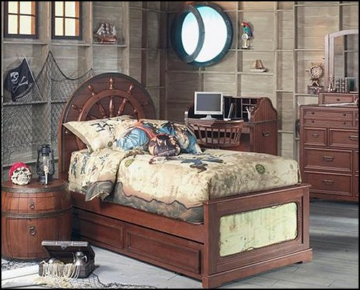 15+ Pirate Themed Bedroom Decor