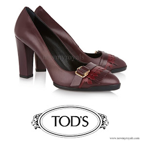 Kate Middleton wore Tod's Fringed Leather Pumps