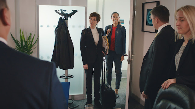 Casualty, BBC, Series 32, Episode 39, episode review, Jaye Griffiths, Elle, Connie, Amanda Mealing