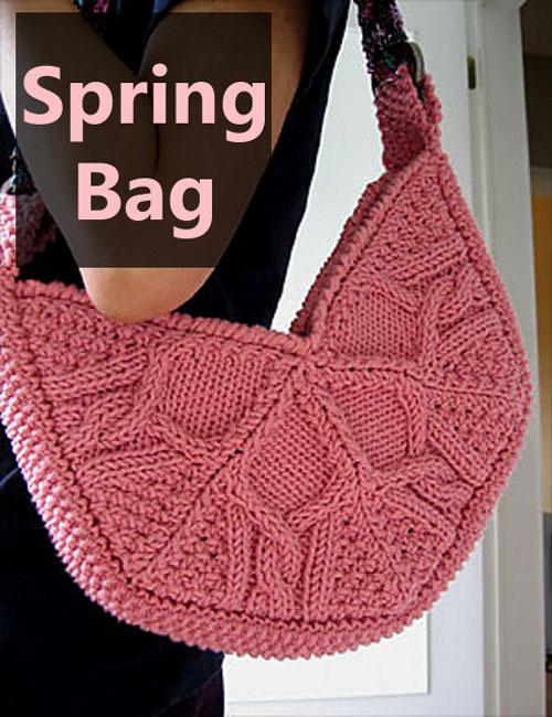 Spring Bag - Free Pattern