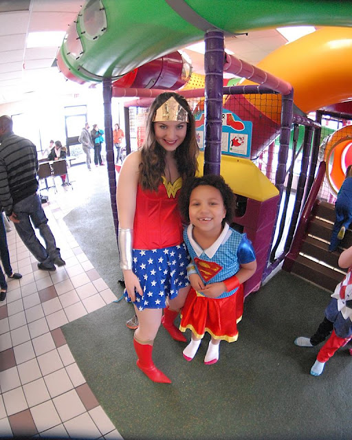 Ohio Princess Party's Wonder Woman | iNeed a Playdate