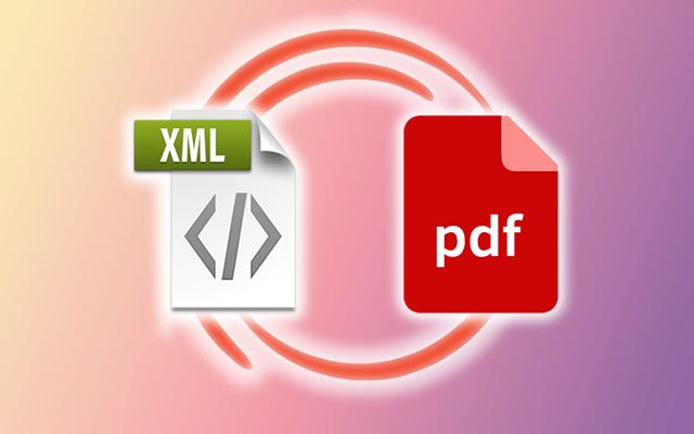 XML a PDF