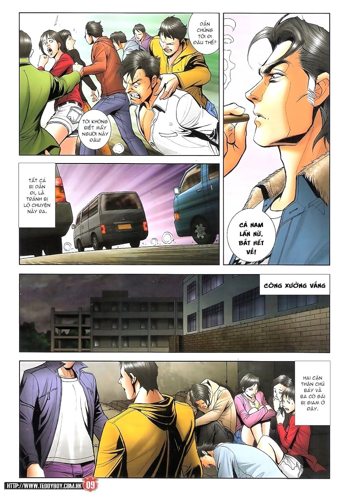 Người Trong Giang Hồ chapter 1696: giết vào vượng giác trang 8