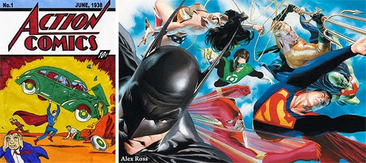 Action Comic Heroes - Artwork Alex Ross